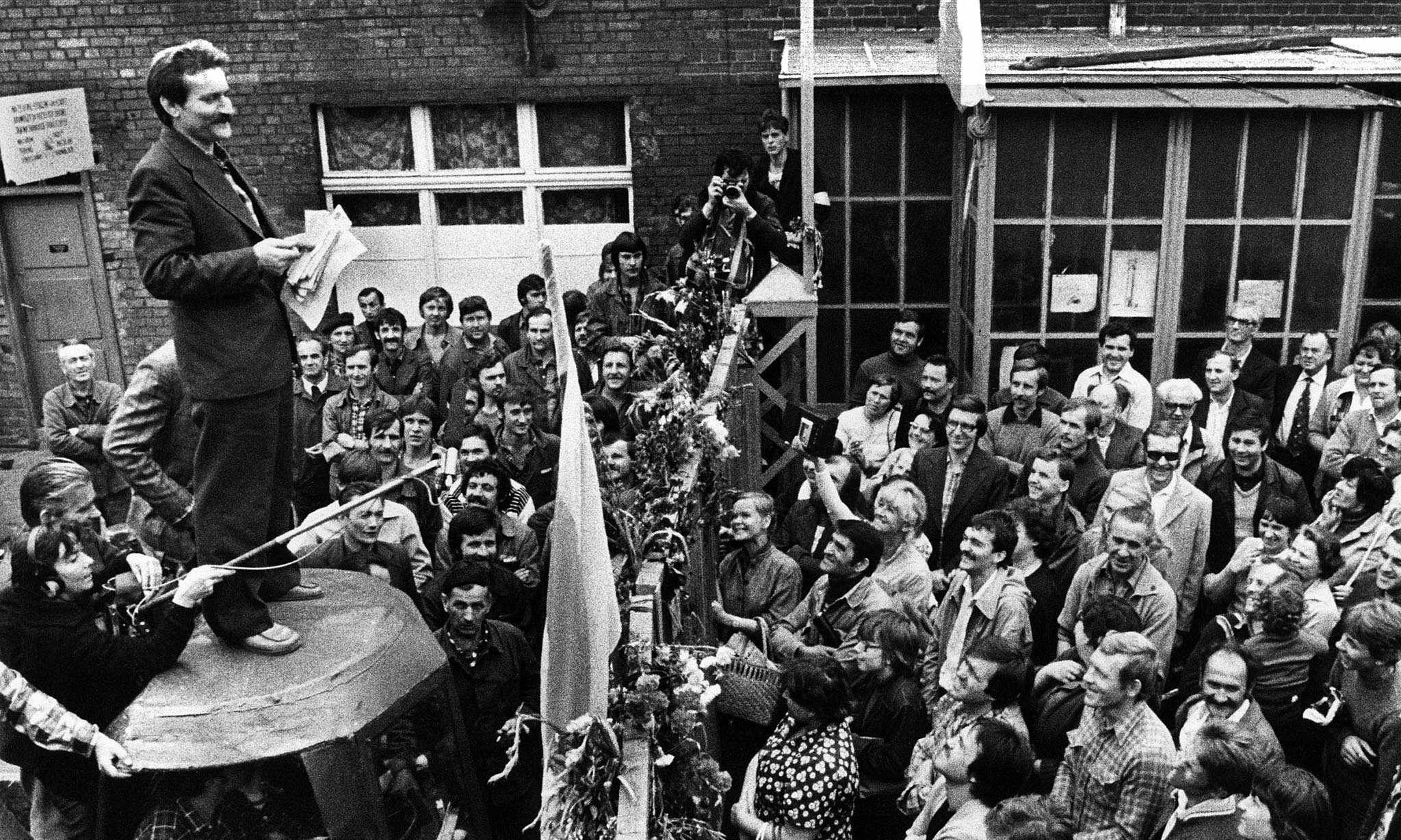 The birth of Solidarity in Poland - archive 1980
