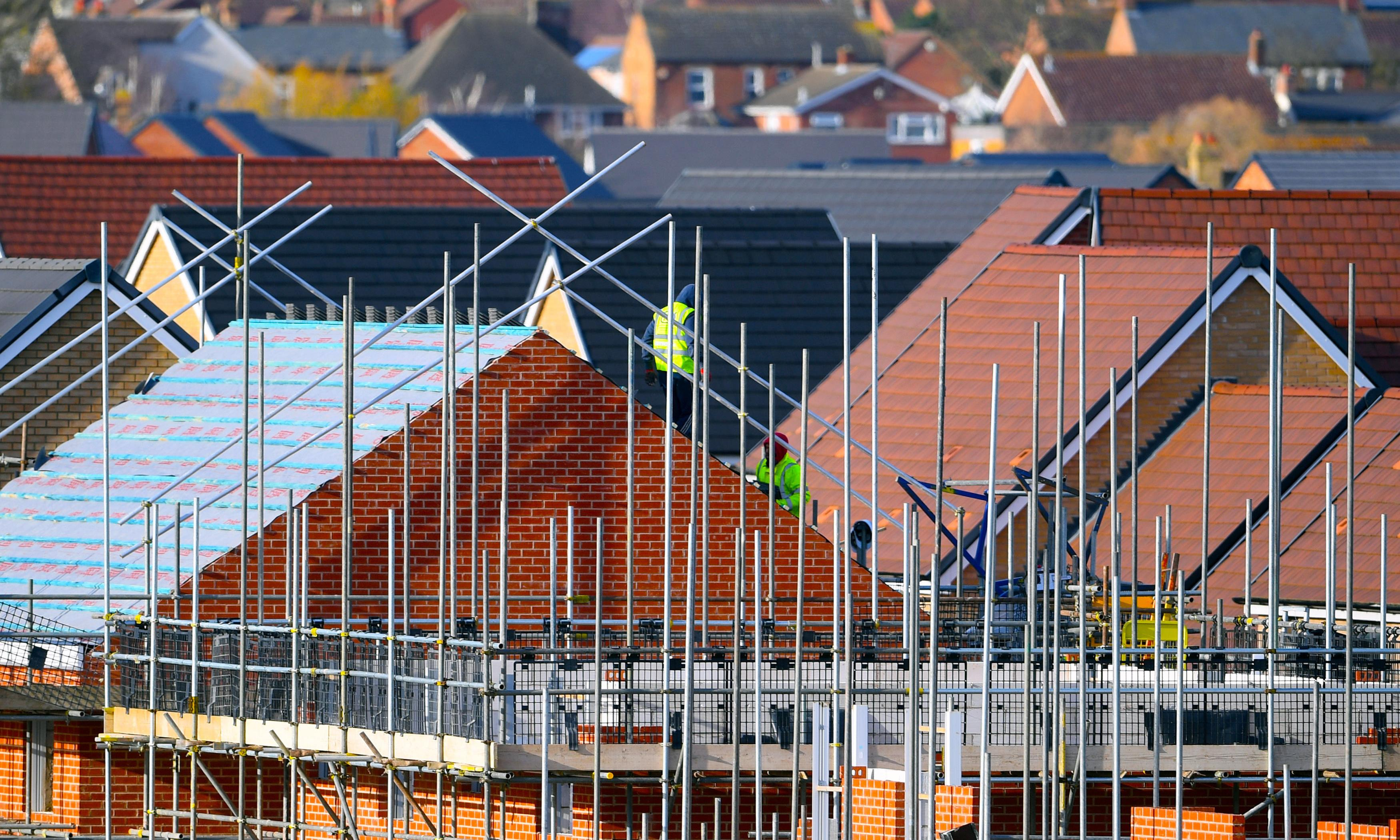 Housebuilding slowdown dampens construction industry recovery