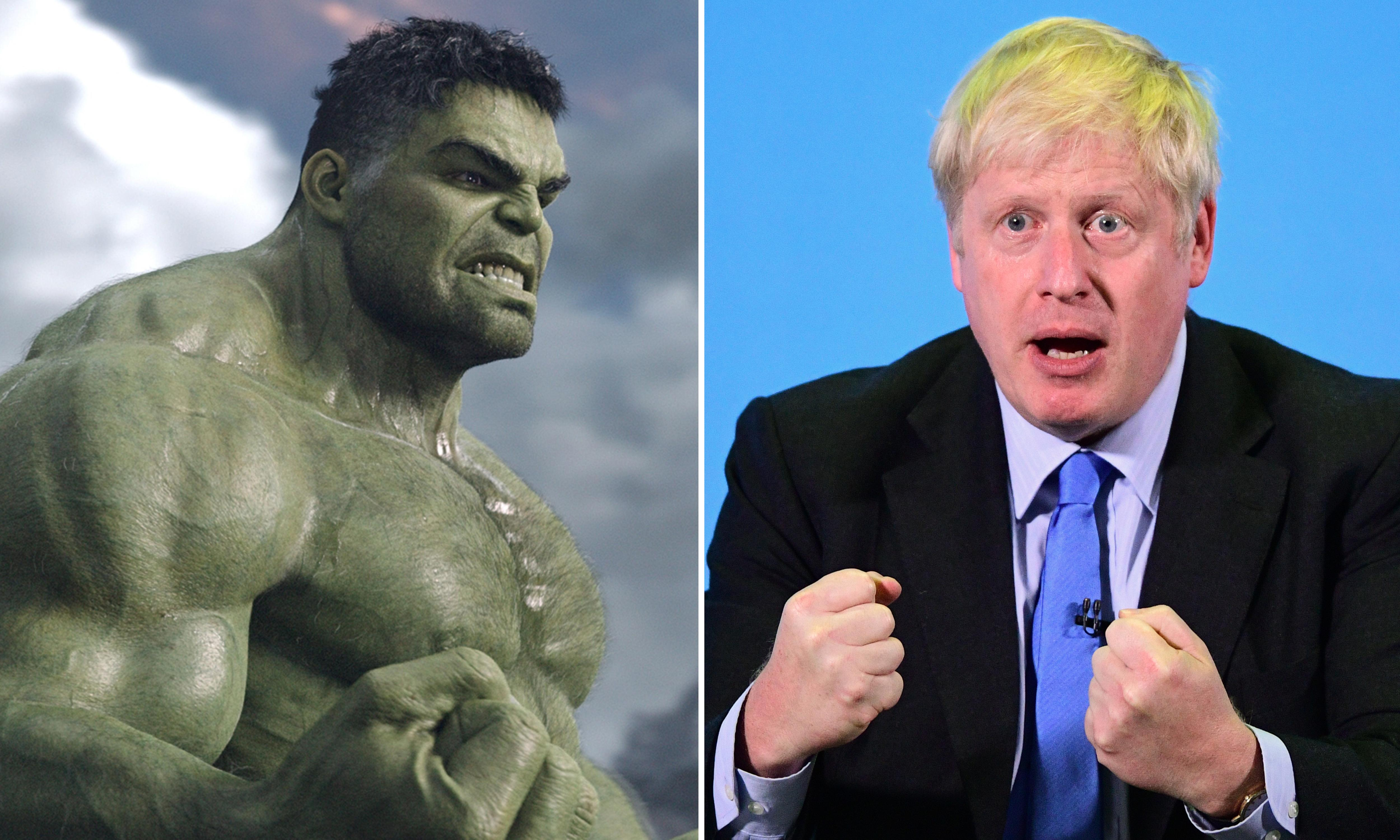 Mean, moody, or a mope? If Boris is the Hulk, which Hulk is he?