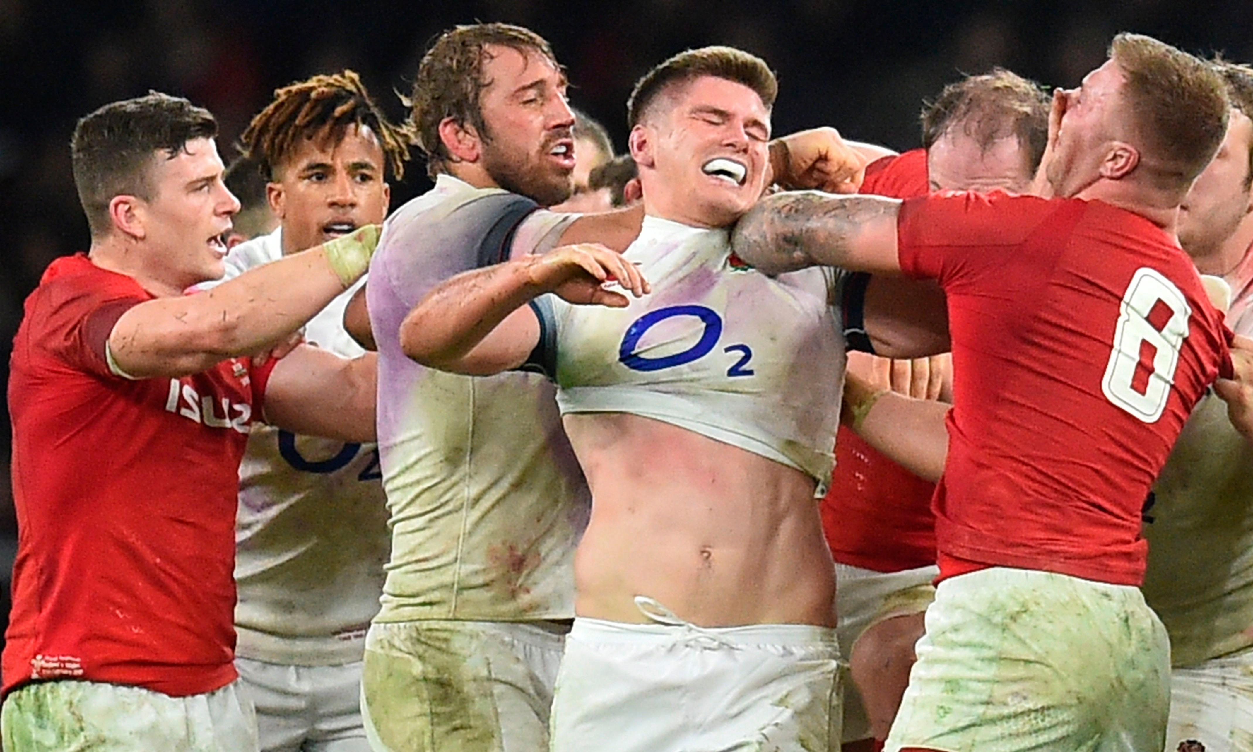 Owen Farrell says England ready for any Wales dirty tricks in Cardiff