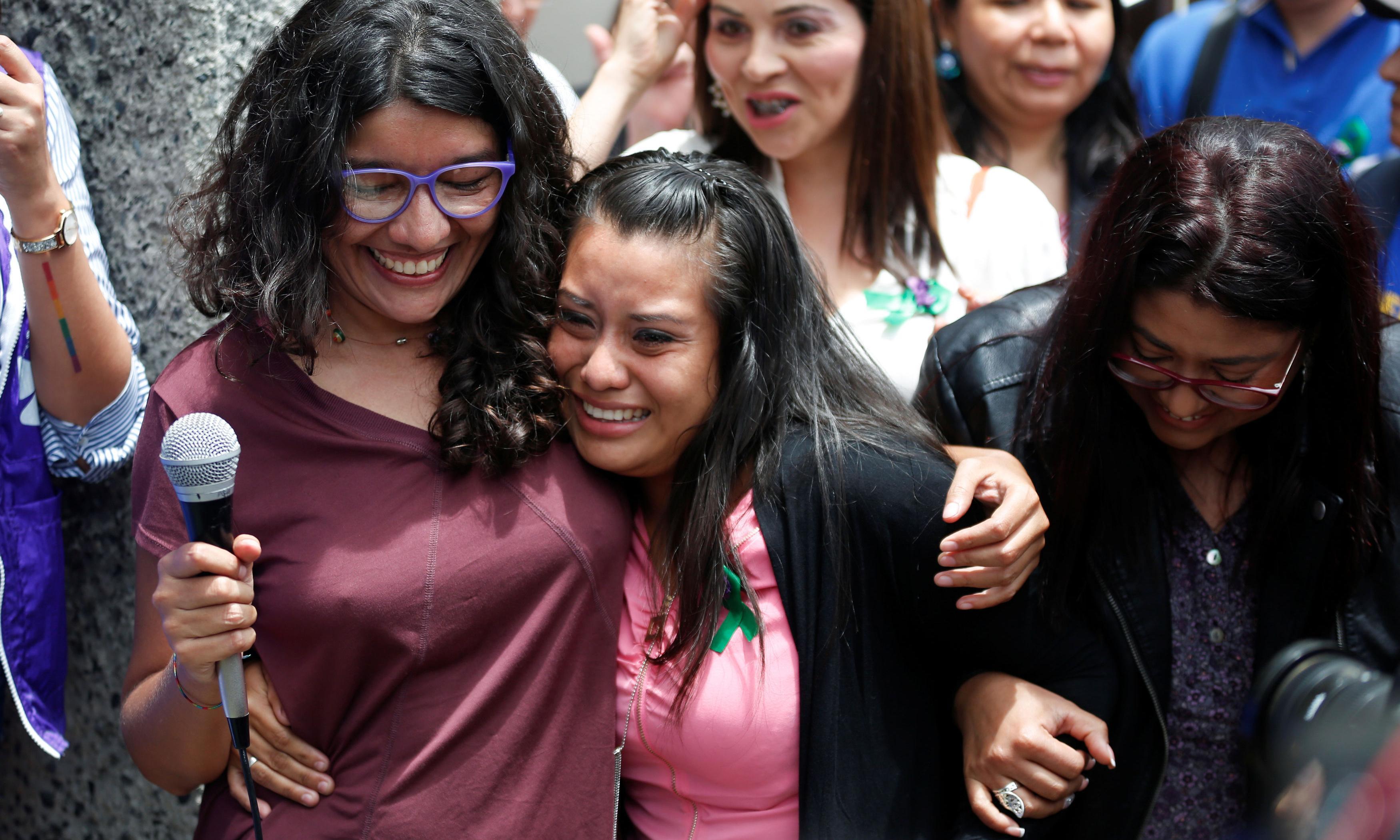 El Salvador rape victim acquitted over stillbirth murder charge