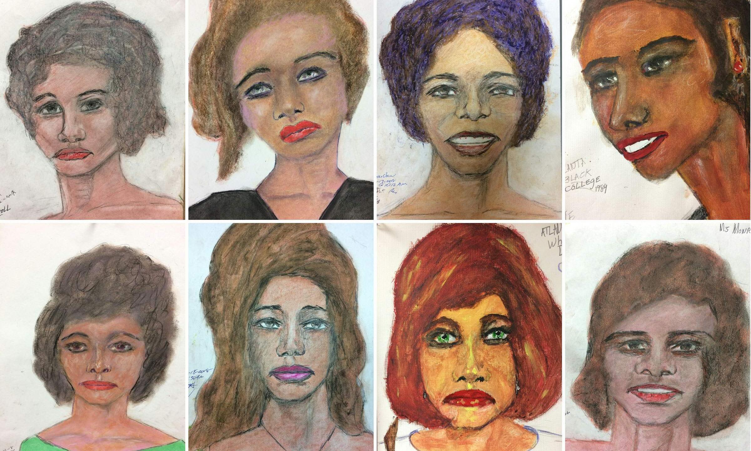 Serial killer's drawings of alleged victims released by FBI