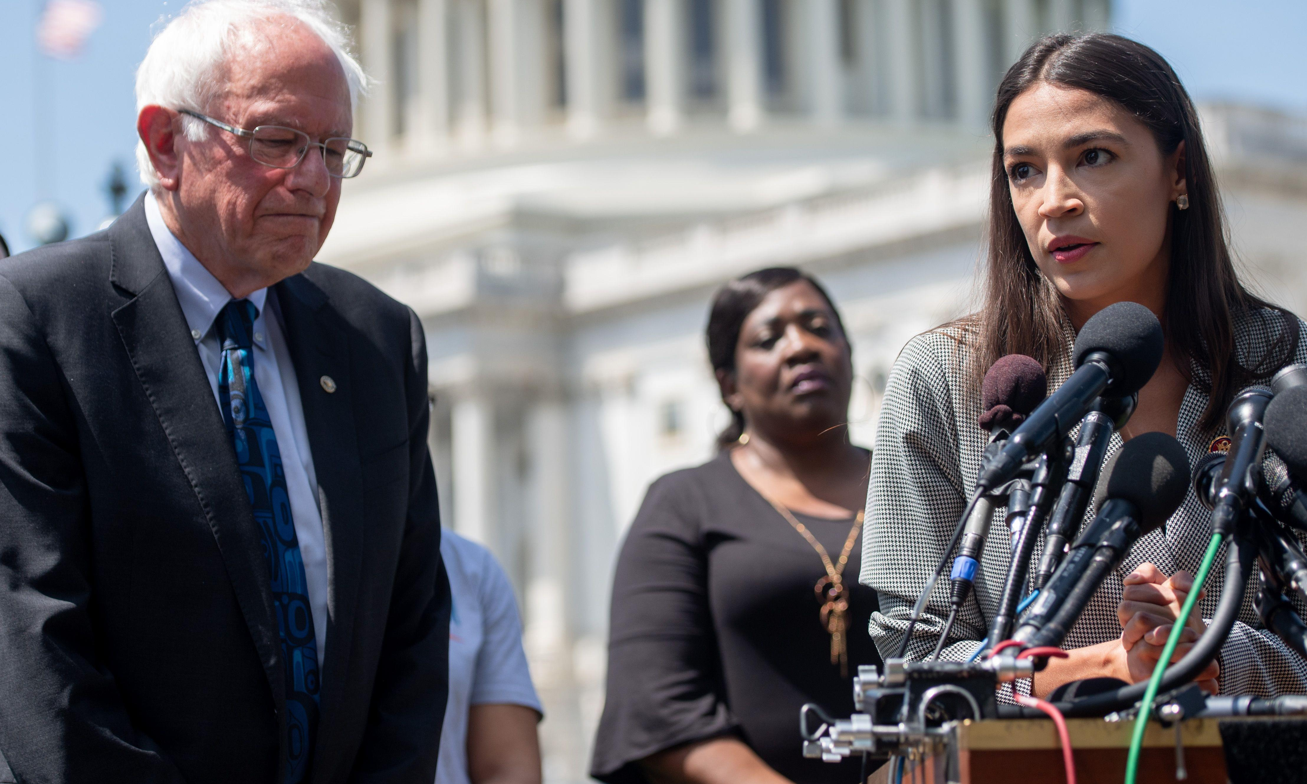 Ocasio-Cortez endorsement gives Sanders shot in the arm at critical time