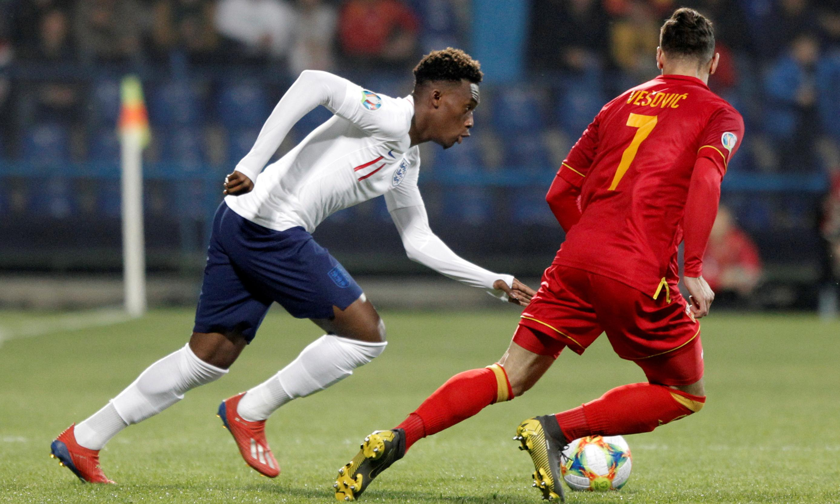 Callum Hudson-Odoi dazzles in the limelight on his first England start