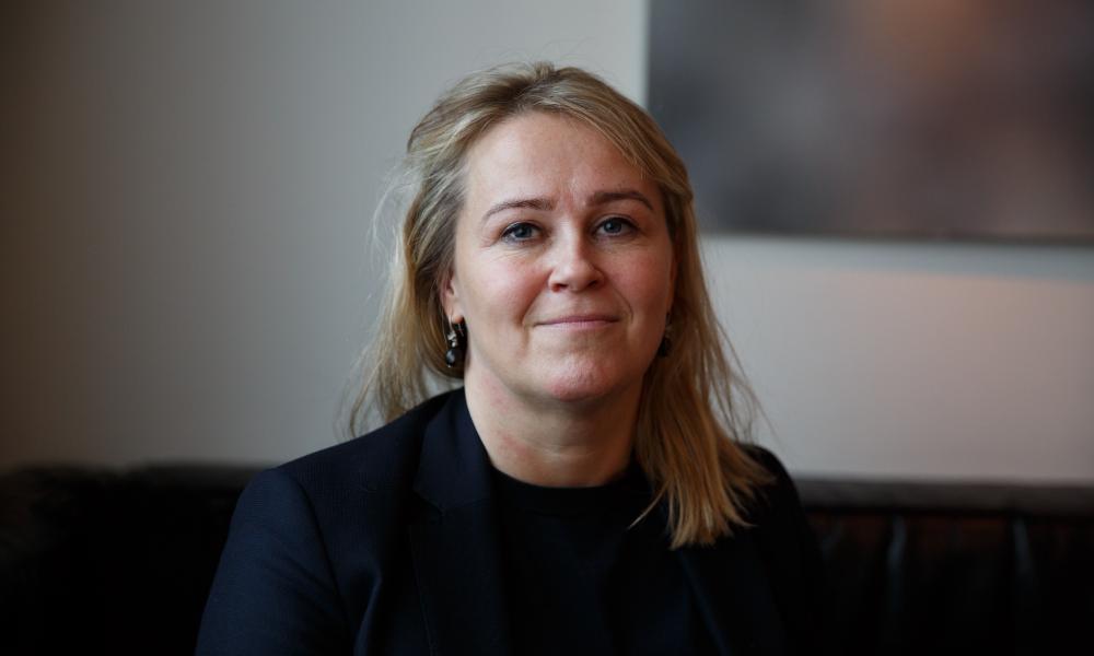 Sigríður Björk Guðjónsdóttir, Reykjavik's first female chief of police.
