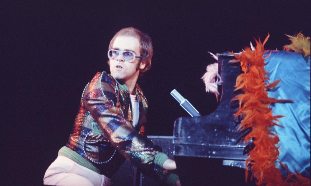 Elton John live at Nippon Budokan, February 1st, 1974, Tokyo, Japan.