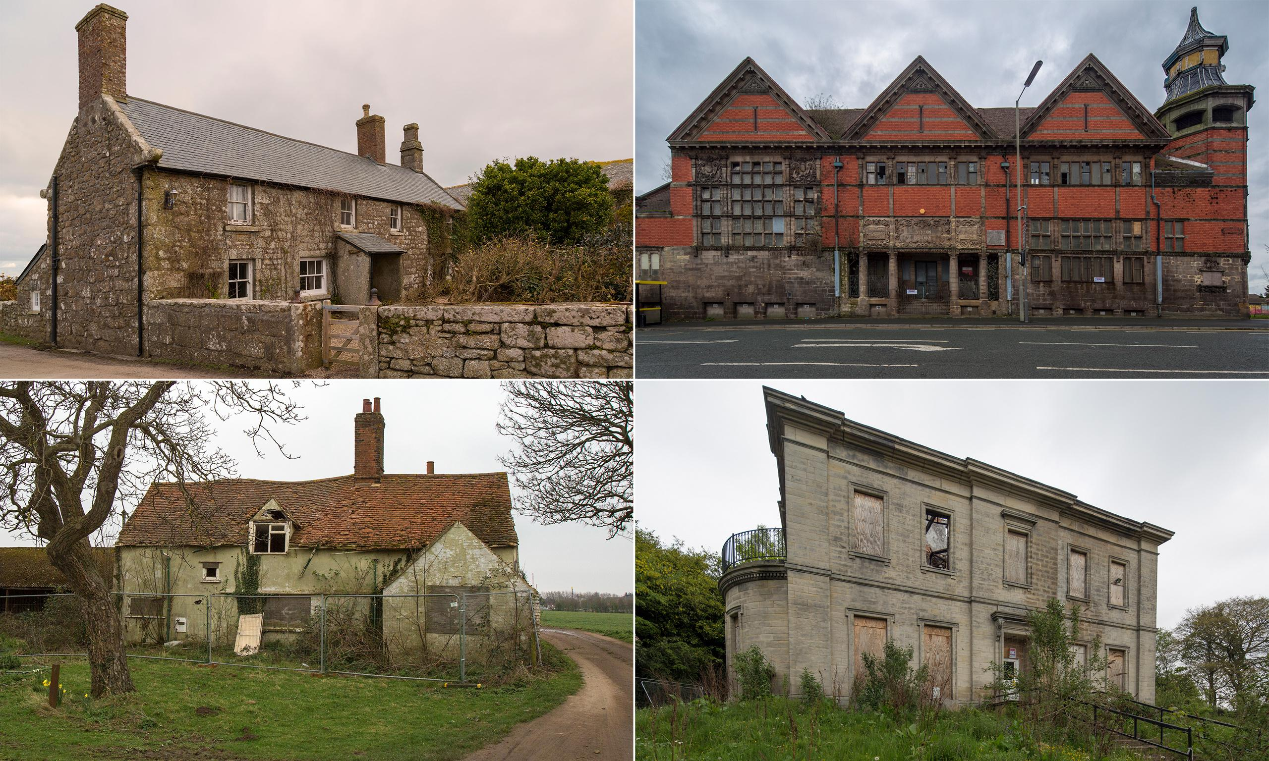 The art deco pub, the library and Poldark manor: Britain's architectural gems at risk