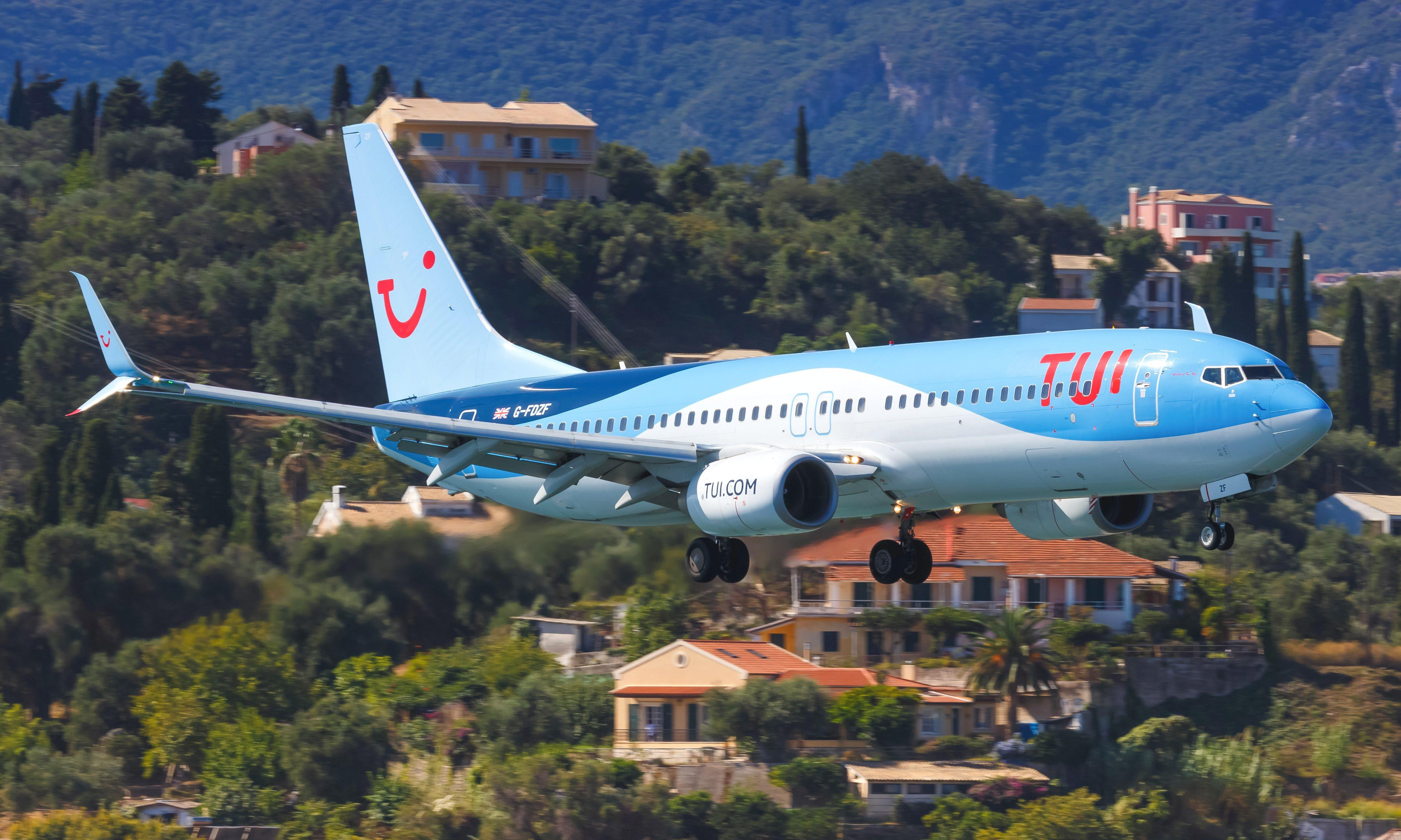 Brexit, Boeing and blistering weather put Tui on the road to trouble