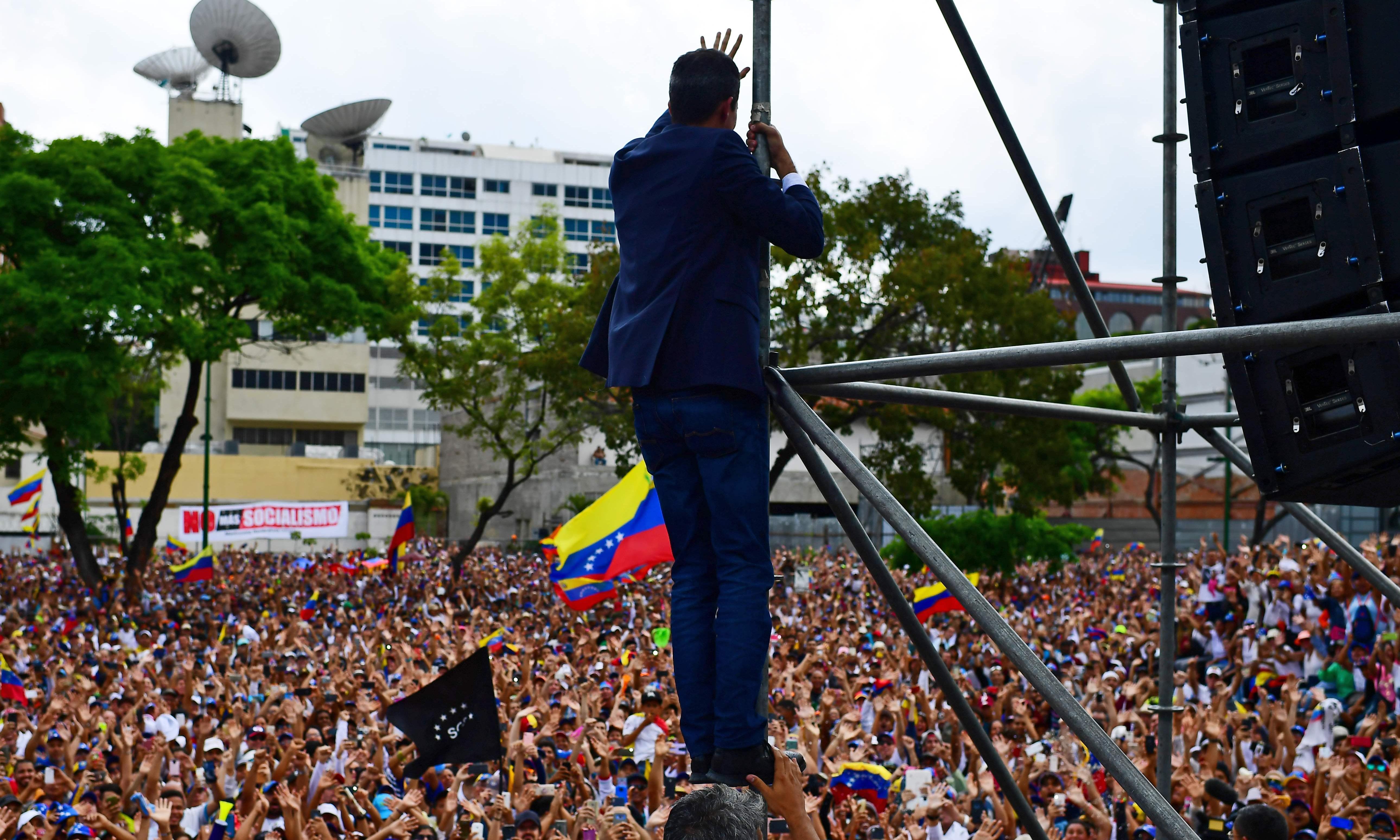 Venezuela's dead revolution shows the limitations of the crowd