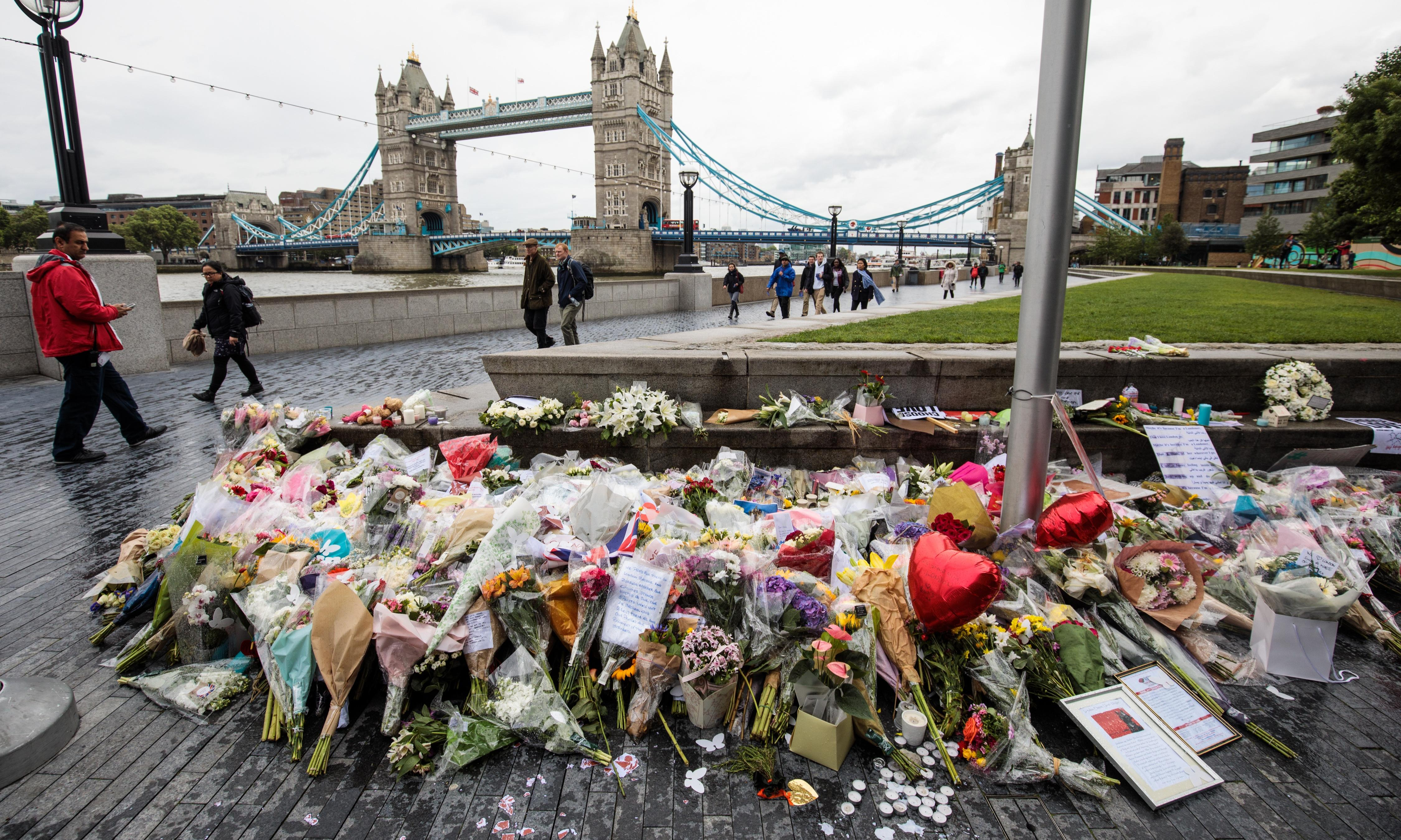 London Bridge inquest: man threw chair to distract attackers from victims
