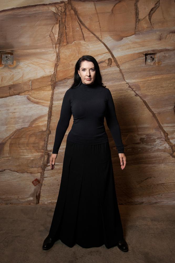 Marina Abramović at Mona, Tasmania