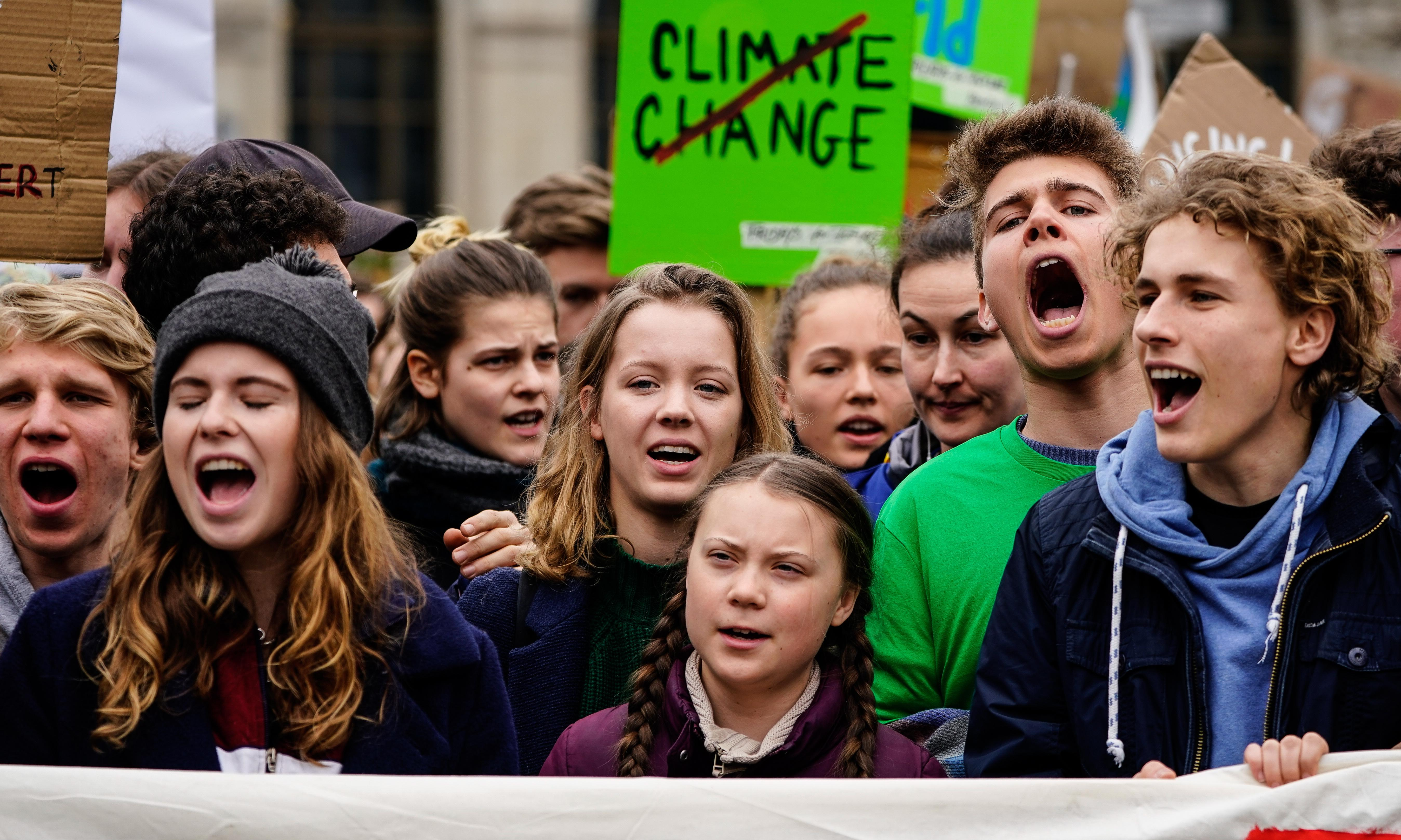 'We need everyone': Greta Thunberg calls on adults to join climate strikes