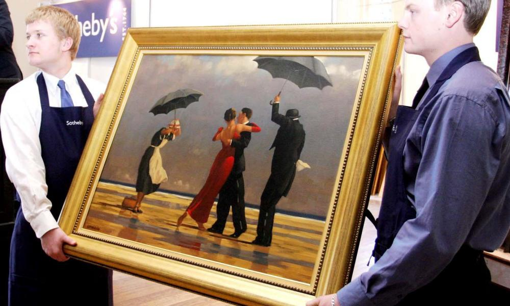Singing Butler by Jack Vettriano.