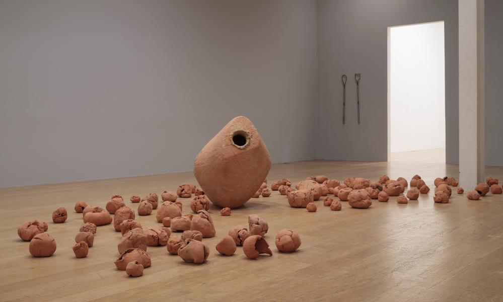 Damián Ortega's Broken Sac, 2016.