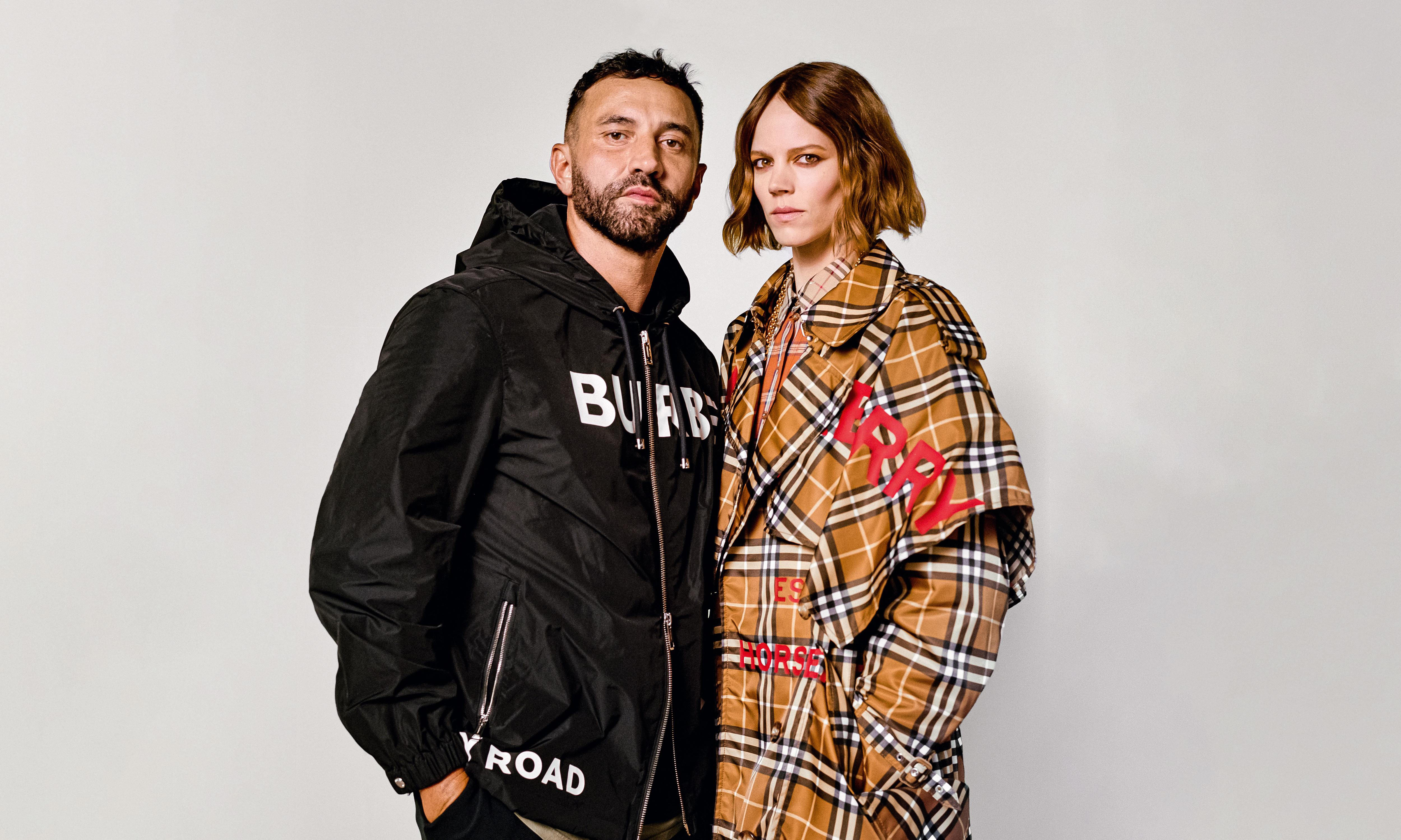 Checking in: Riccardo Tisci on his new era at Burberry