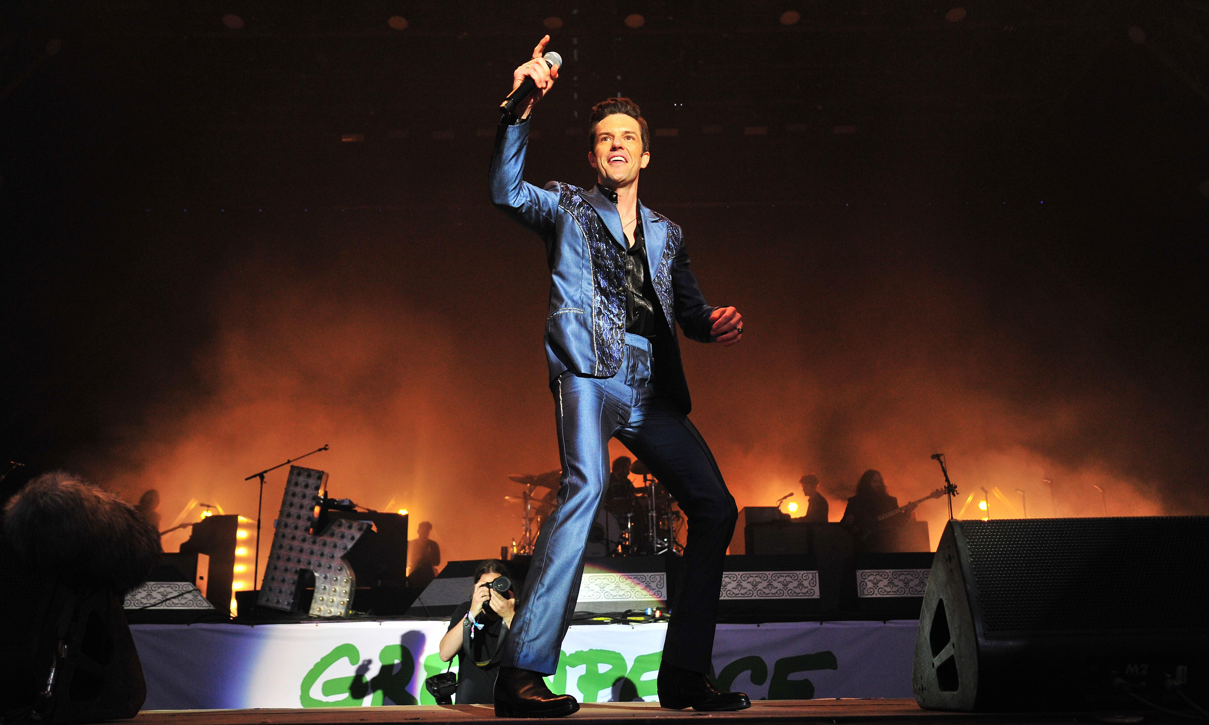 The Killers at Glastonbury 2019 review – anthemic headliners triumph