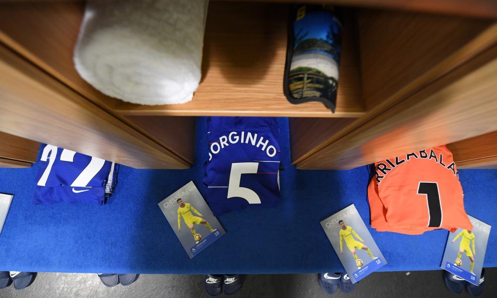 Jorginho's gear.