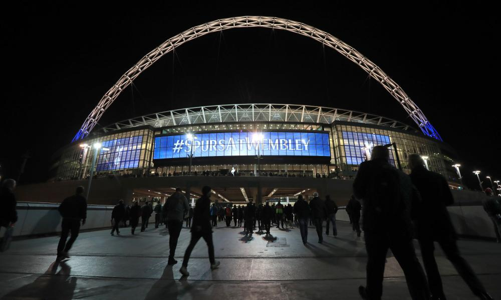 Tottenham's first Premier League game at Wembley will be a London derby with the champions, Chelsea.