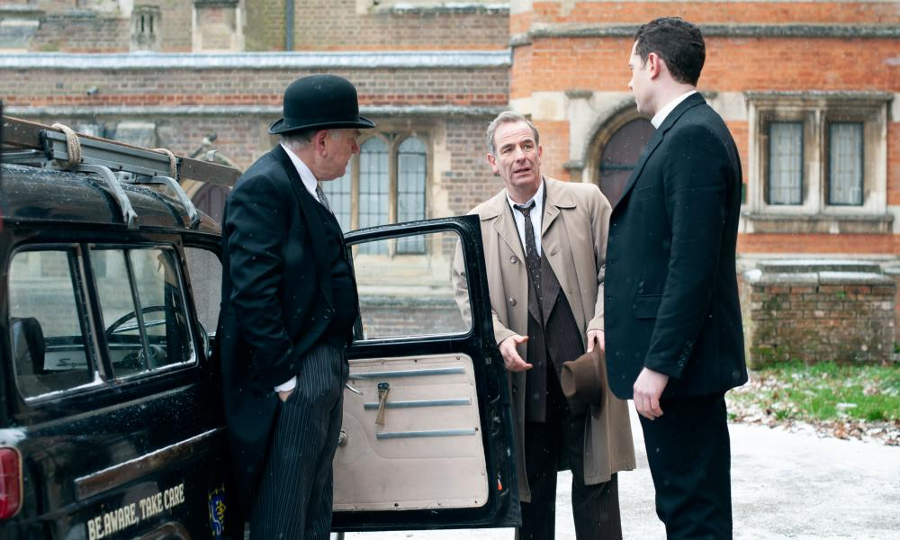 Alan Williams as Bernard Allison, Robson Green as Geordie Keating and Tom Brittney as Rev Will Davenport.
