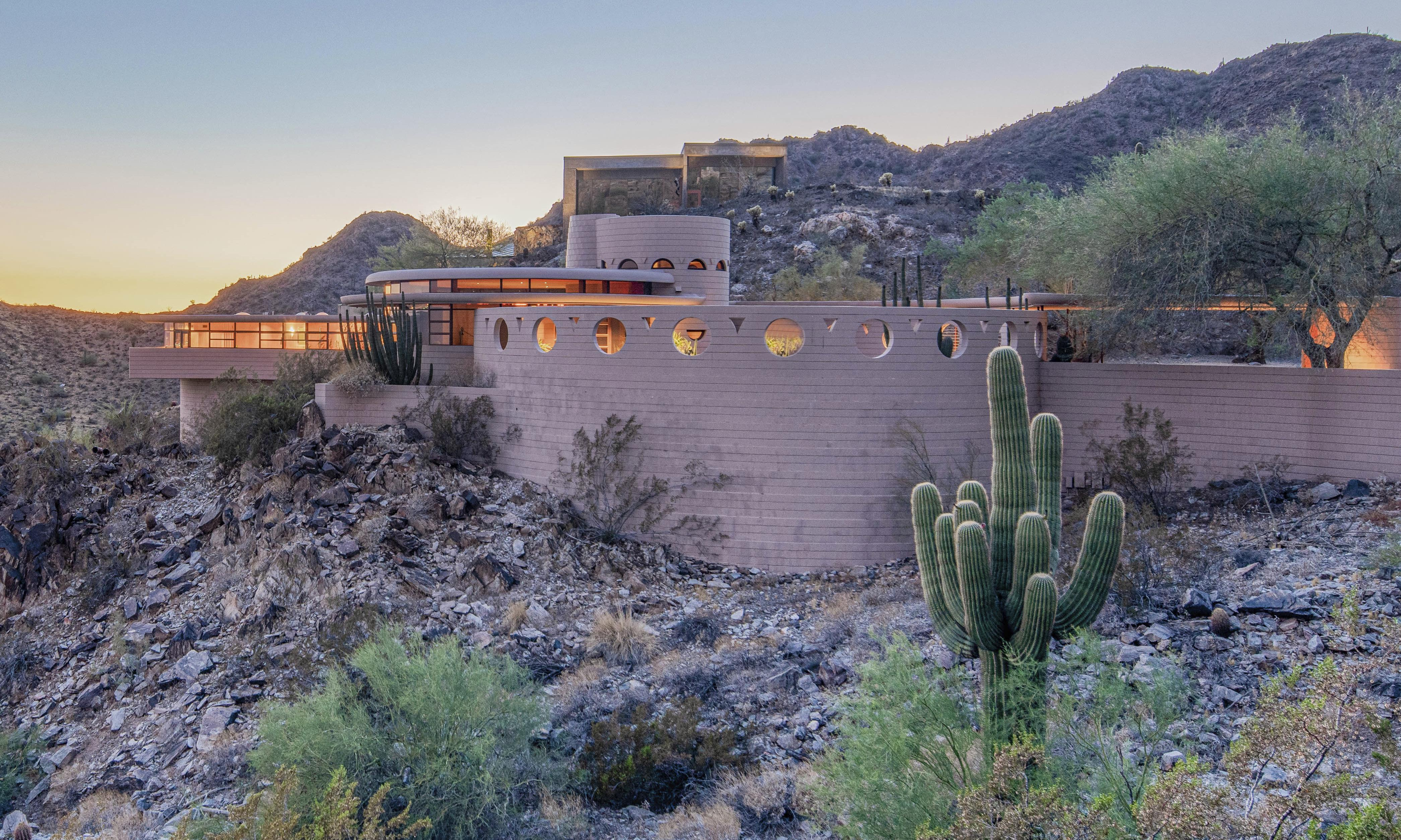 Arizona home designed by Frank Lloyd Wright before his death sells for $1.7m