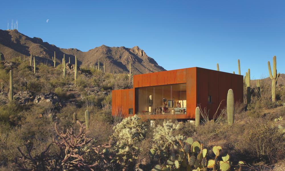 Desert Nomad House Studio Rick Joy Tucson Mountains Arizona USA 2006
