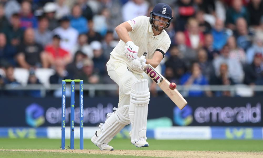 Dawid Malan batting against India at Headingley