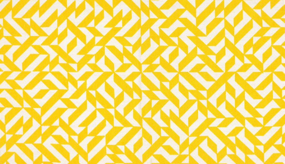 Eclat, 1974, a textile design by Anni Albers.