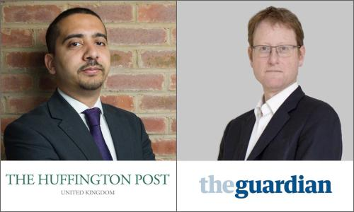 Mehdi Hasan and Jonathan Freedland