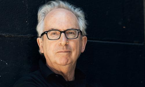 Australian novelist and two-time Booker Prize winner Peter Carey.