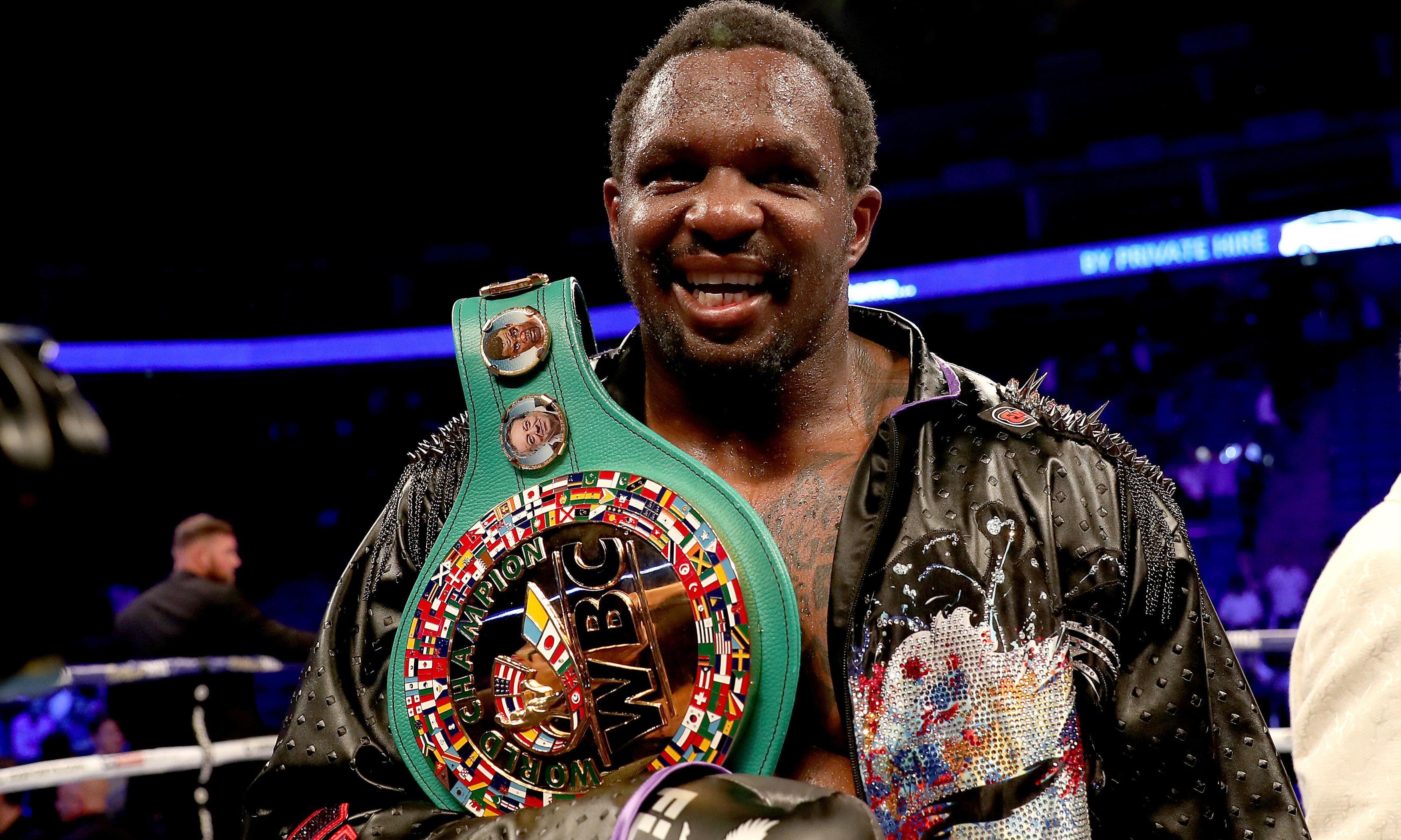 Dillian Whyte claims interim WBC heavyweight title with win over Óscar Rivas