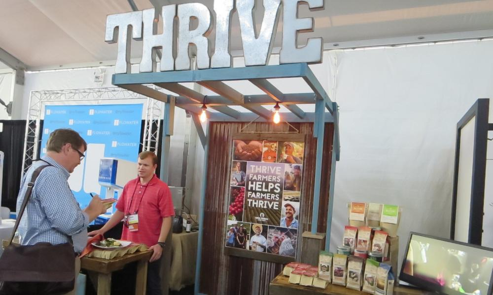 THRIVE aim to minimize the impact of commodity price volatility for coffee and boost incomes for its farmers by selling their crop directly to retailers and corporate customers.