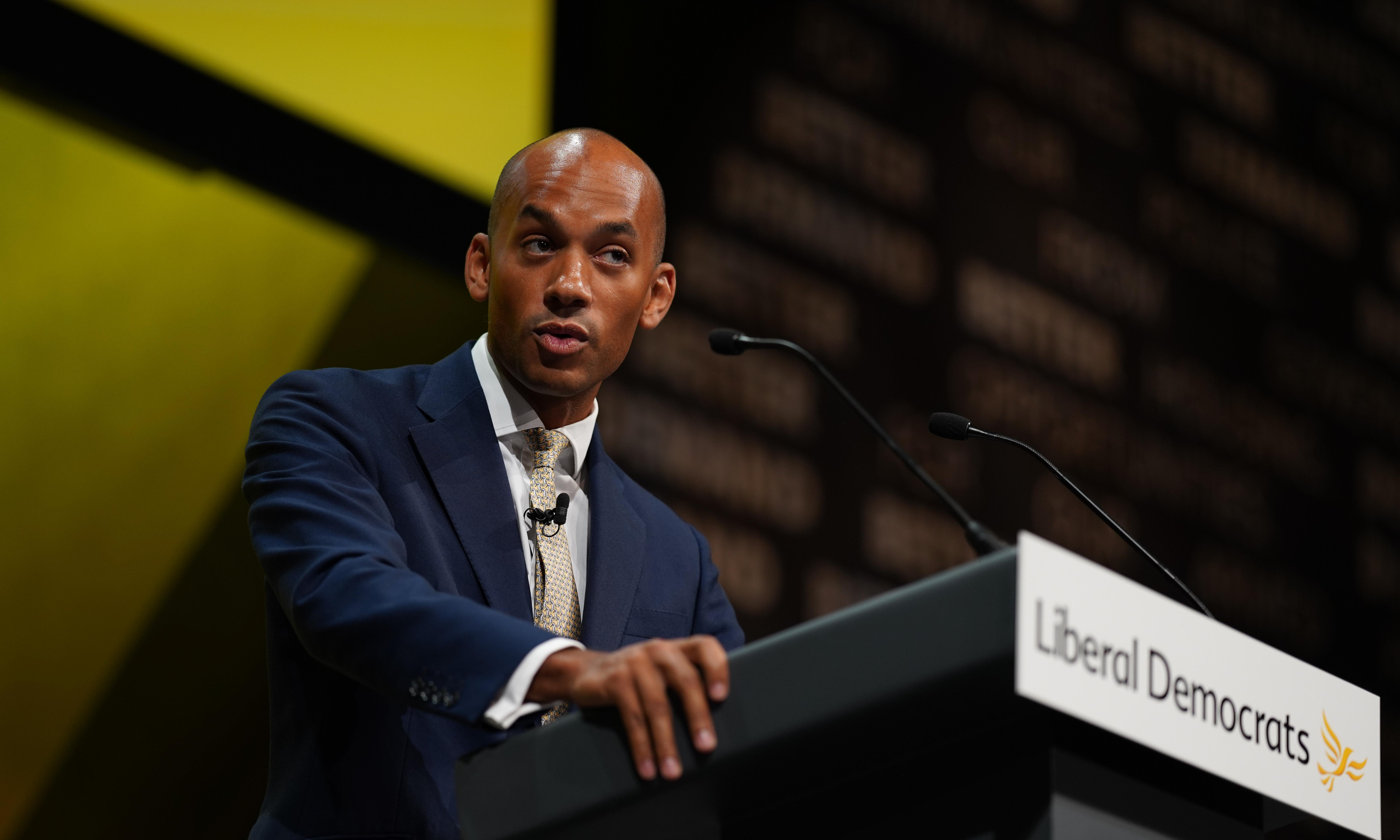 Expand the bandwidth: today at the Liberal Democrat conference