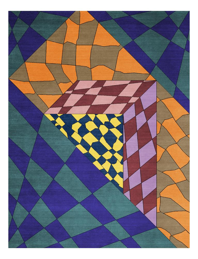 Martino Gamper design for CC-Tapis.