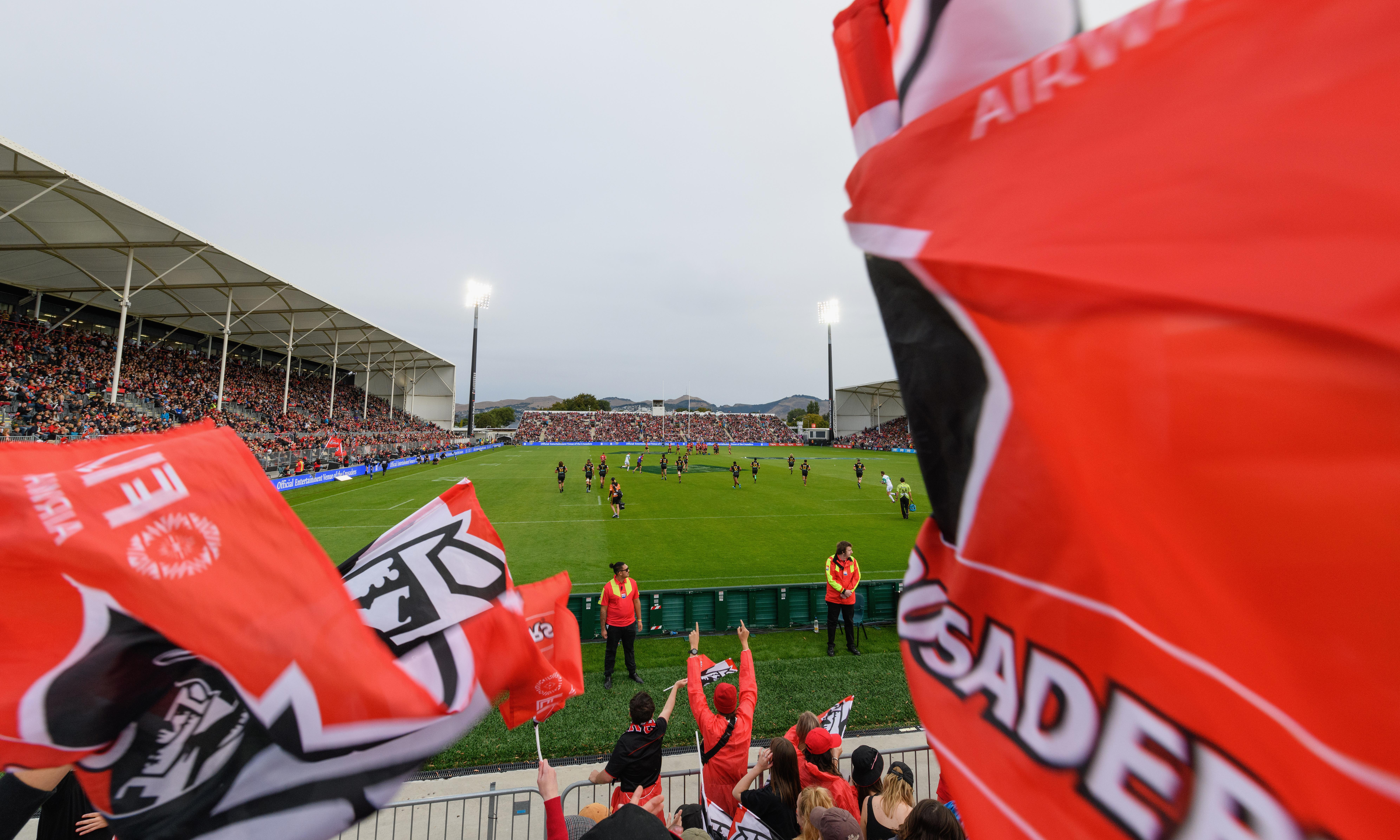 Crusaders weigh up name change after Christchurch attack
