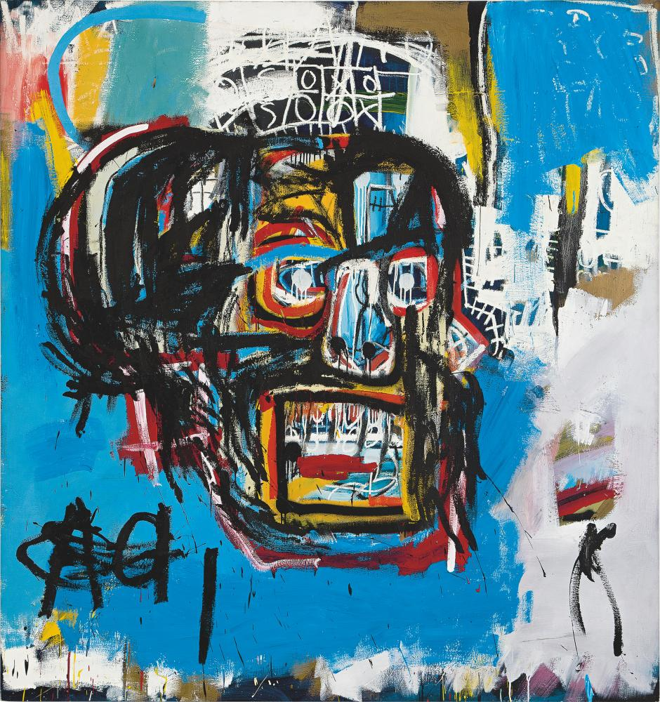 Jean-Michel Basquiat's Untitled 1982