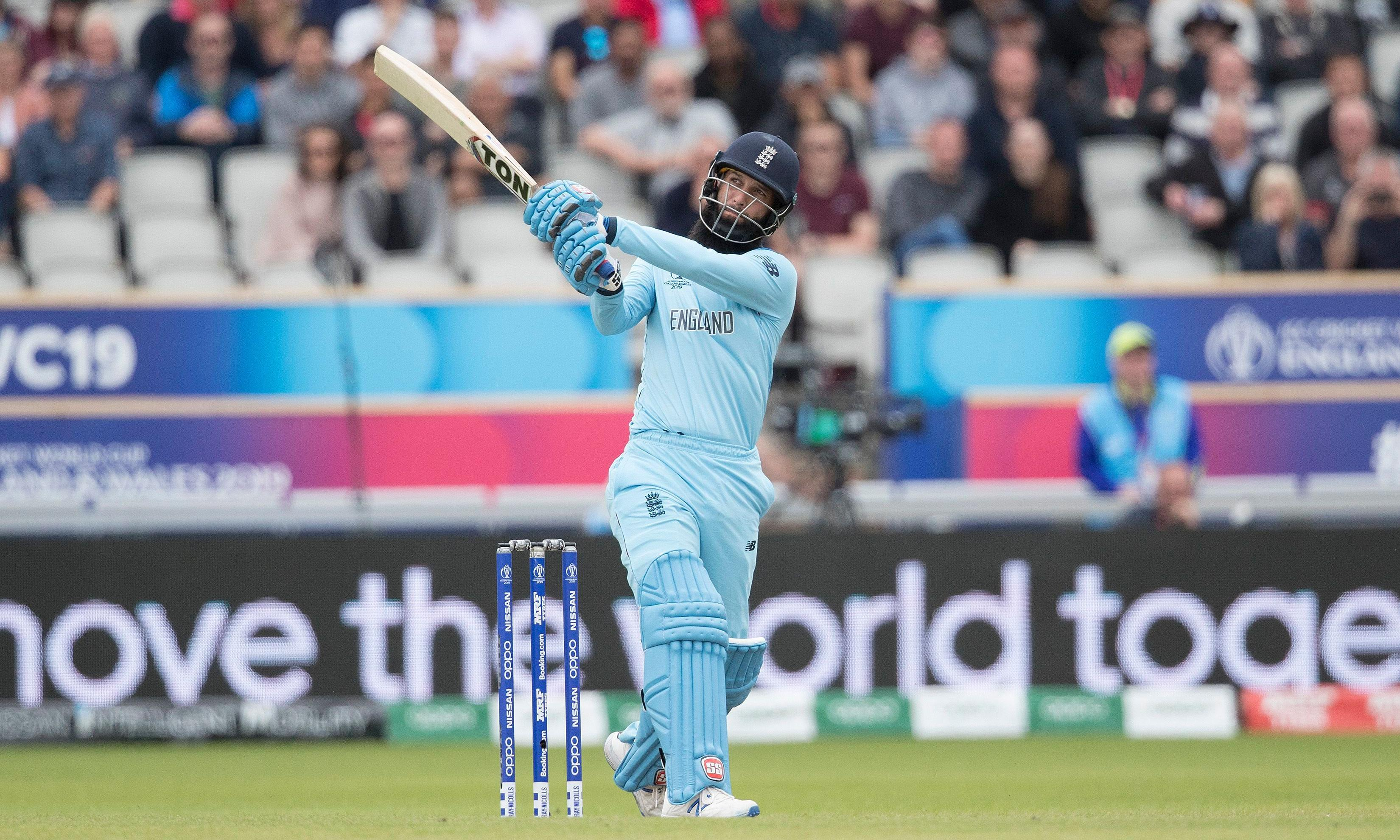 Moeen Ali driving sense of fun for England's World Cup joy of sixes