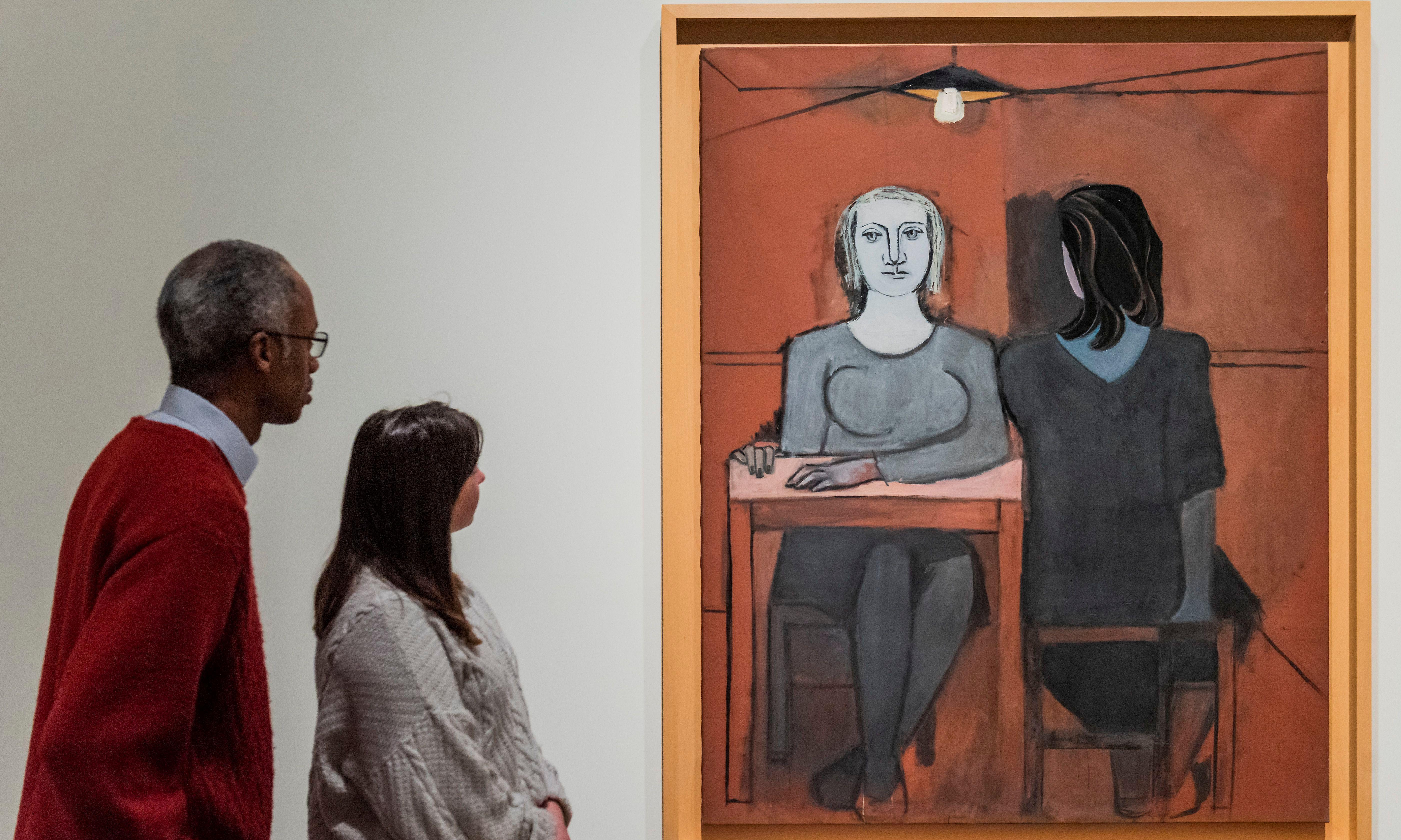 Painting of Picasso's two lovers together on show at Tate Modern