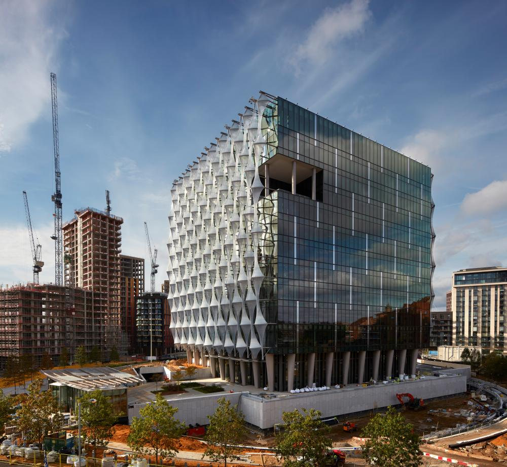 New US Embassy, London, by Philadelphia architecture firm Kieran Timberlake