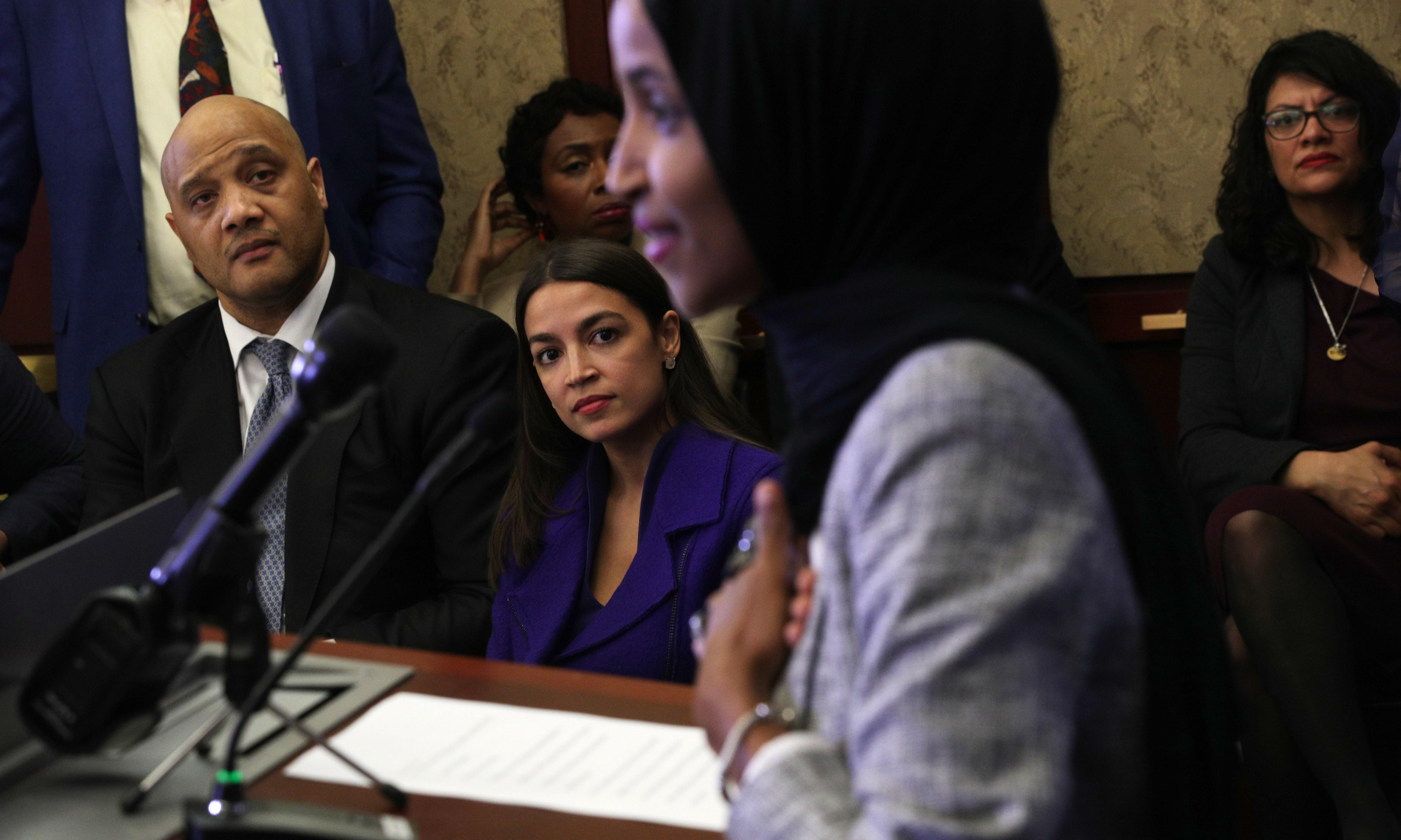 Ilhan Omar breaks Ramadan fast with Democrats in historic first for Congress