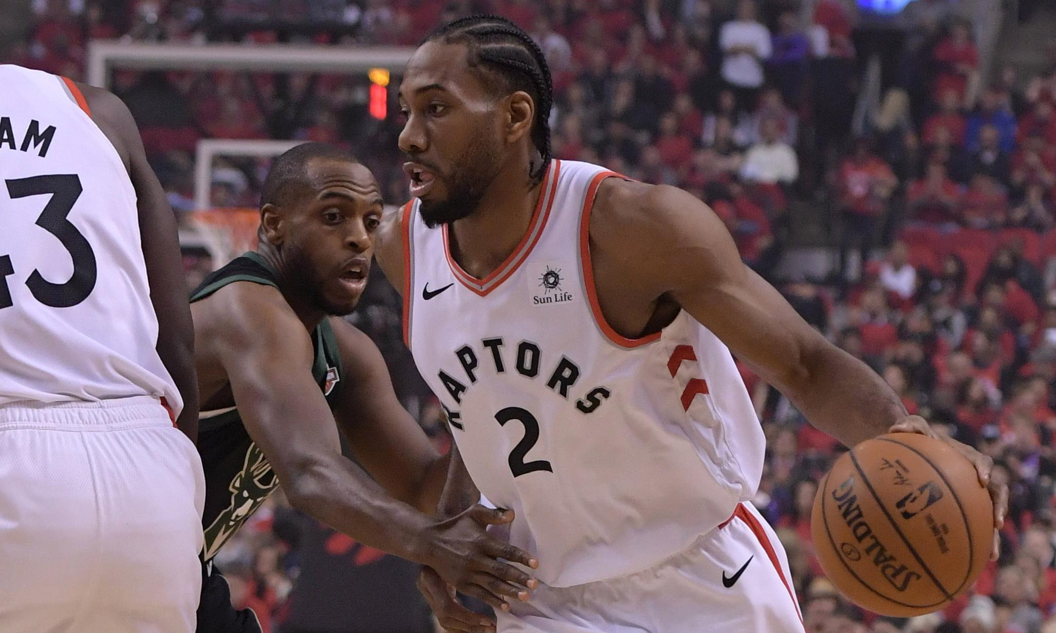 Toronto Raptors finish Milwaukee Bucks to seal first NBA finals berth
