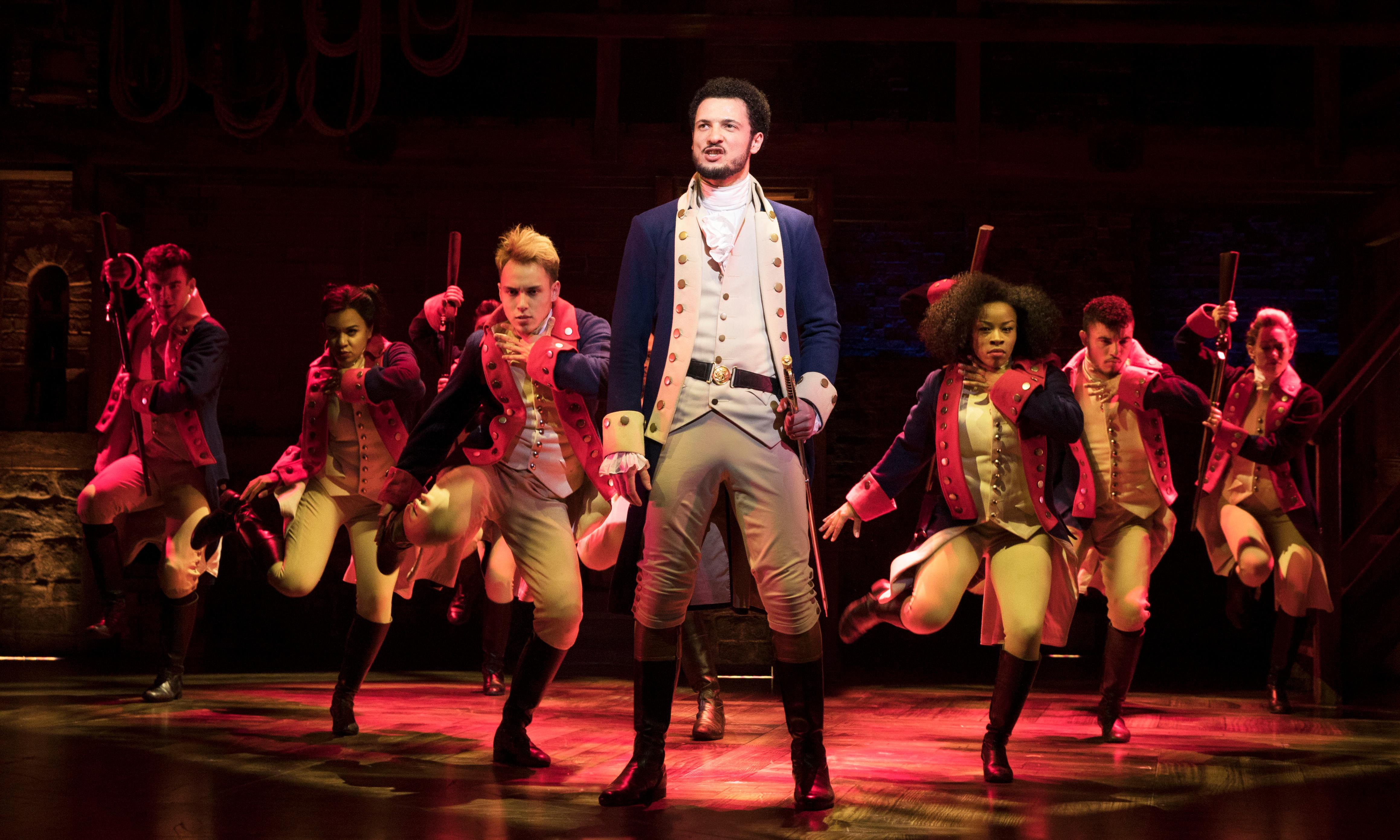 Hamilton's young star says Britain must confront its colonial past