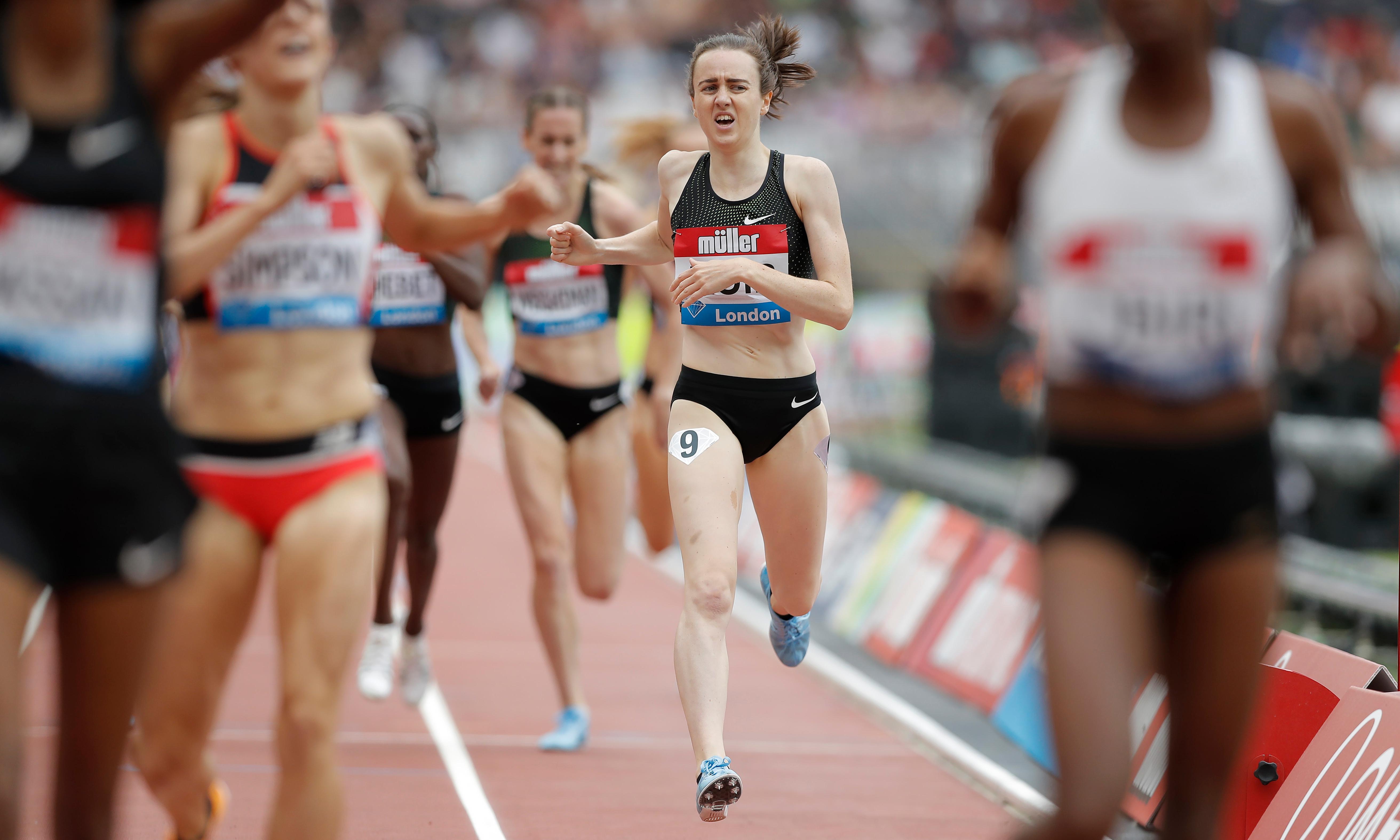 Laura Muir has her sights on 1988 indoor mile record in Birmingham