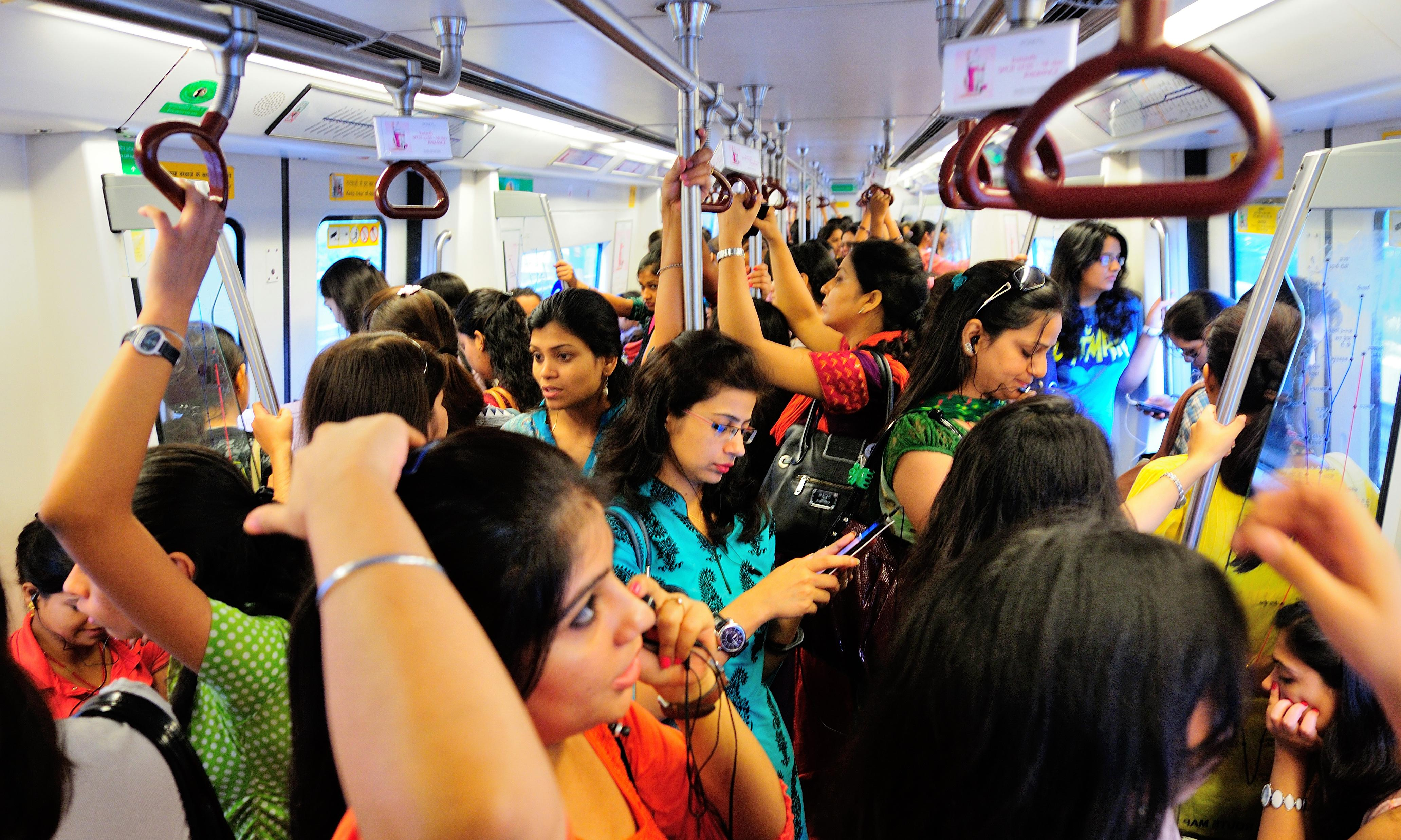 'It's stifling at home': why free metro travel offers a lifeline for Delhi's women