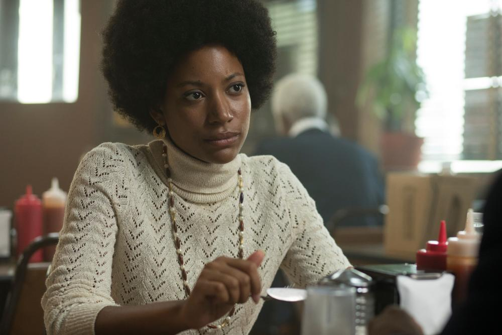 Natalie Paul as Sandra in The Deuce.