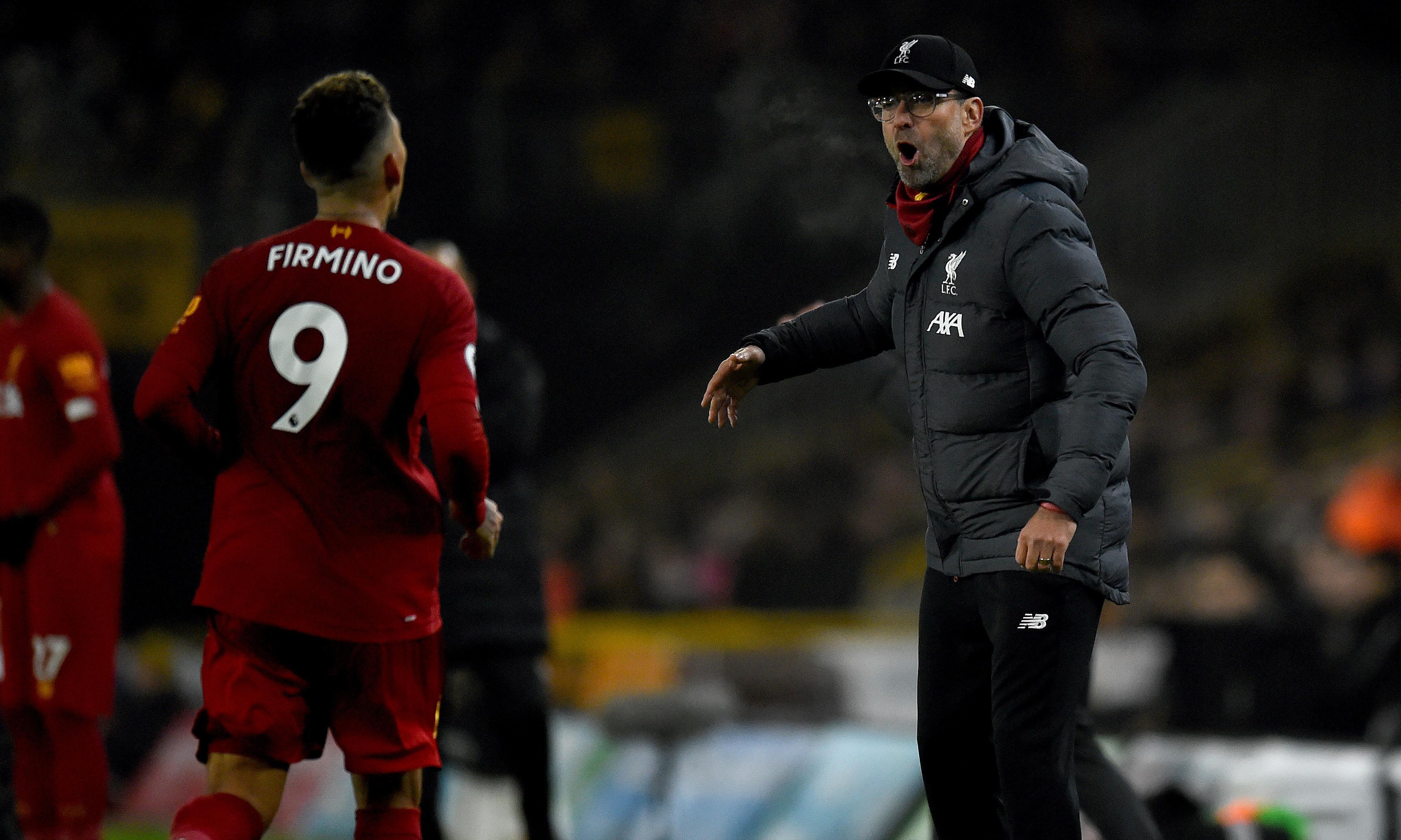 Jürgen Klopp hails 'perfect reaction' after Liverpool seal comeback win