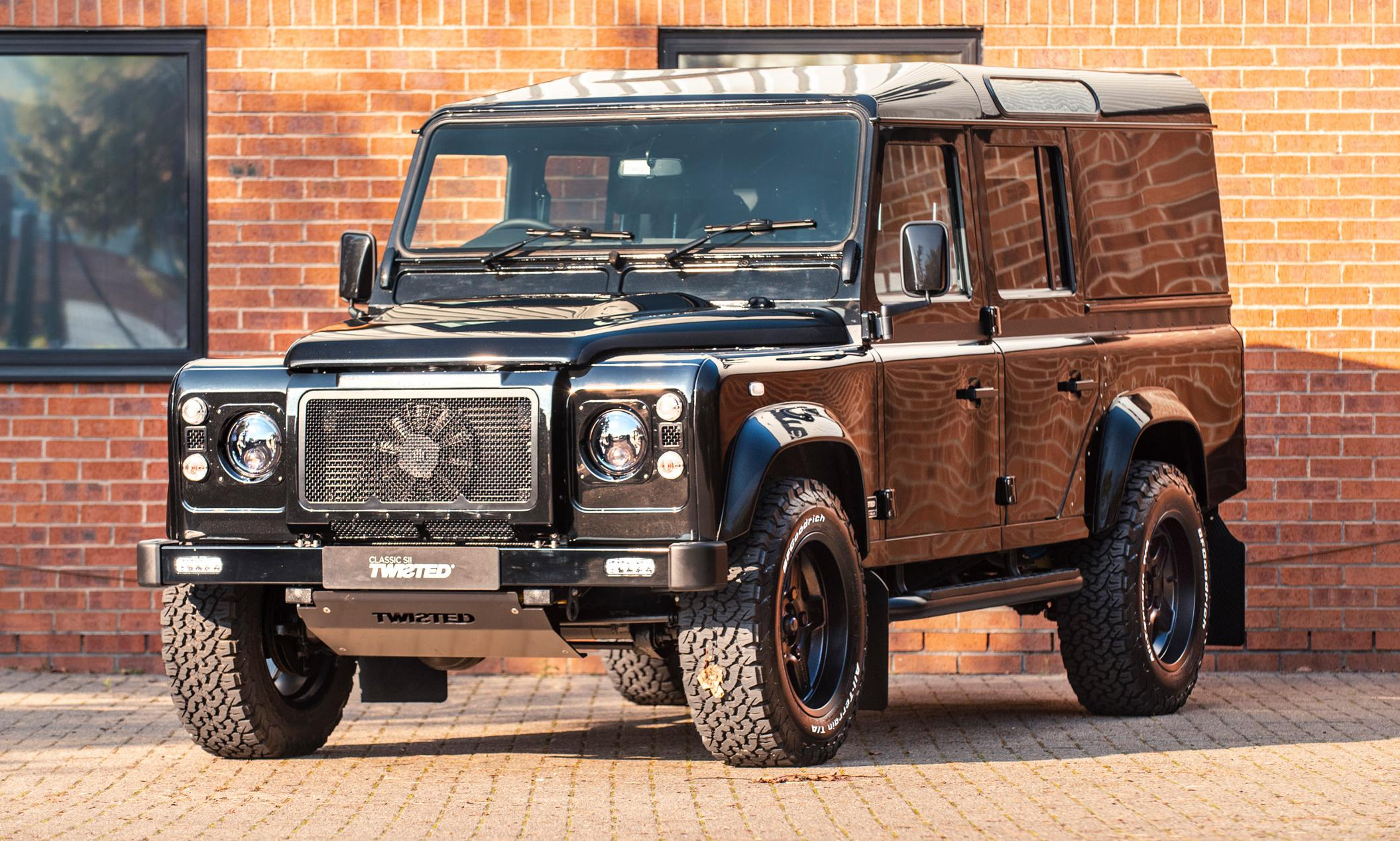 Twisted Land Rover preview: 'The much-loved classic gets a major twist'