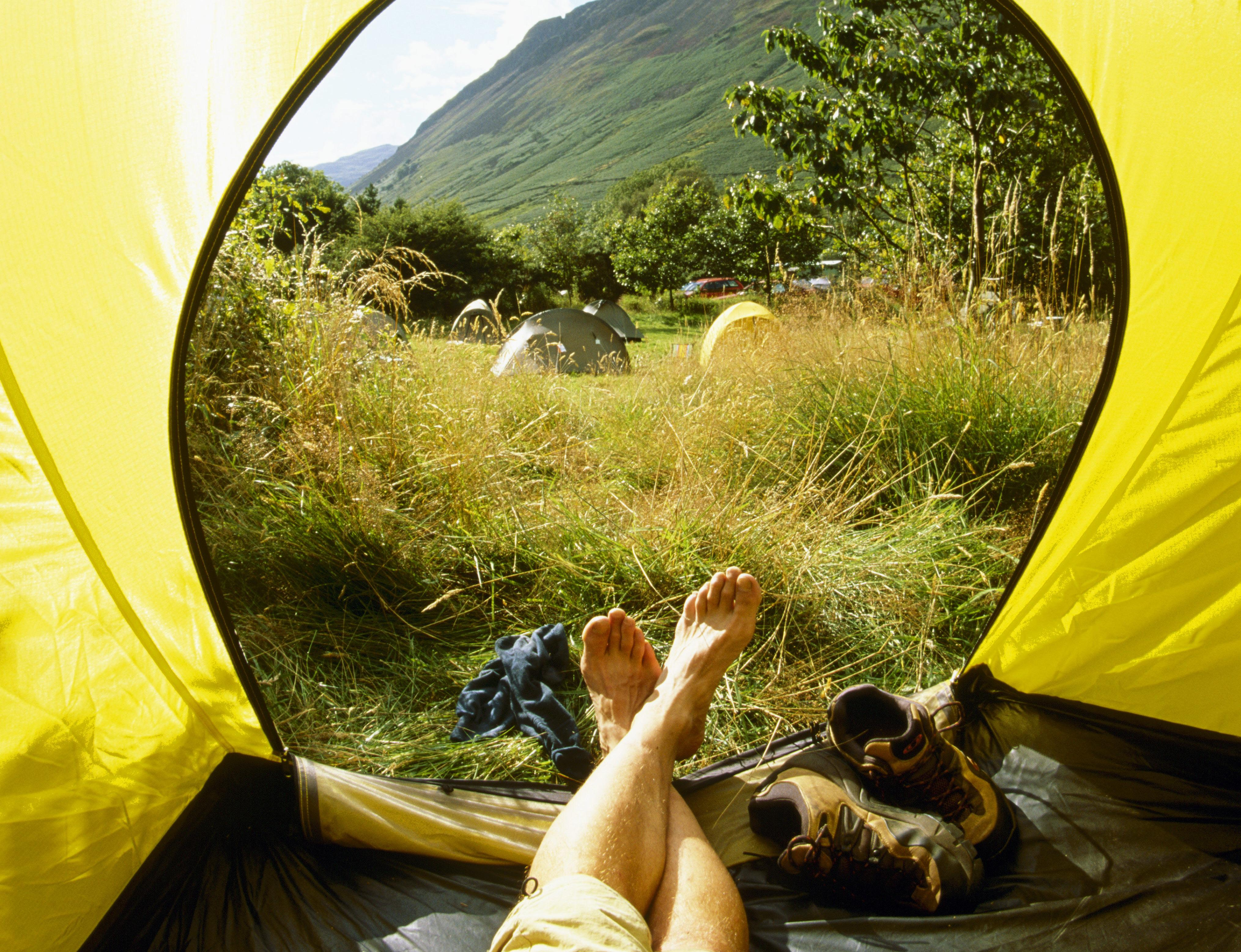 20 of the best campsites in the UK and Europe accessible by public transport
