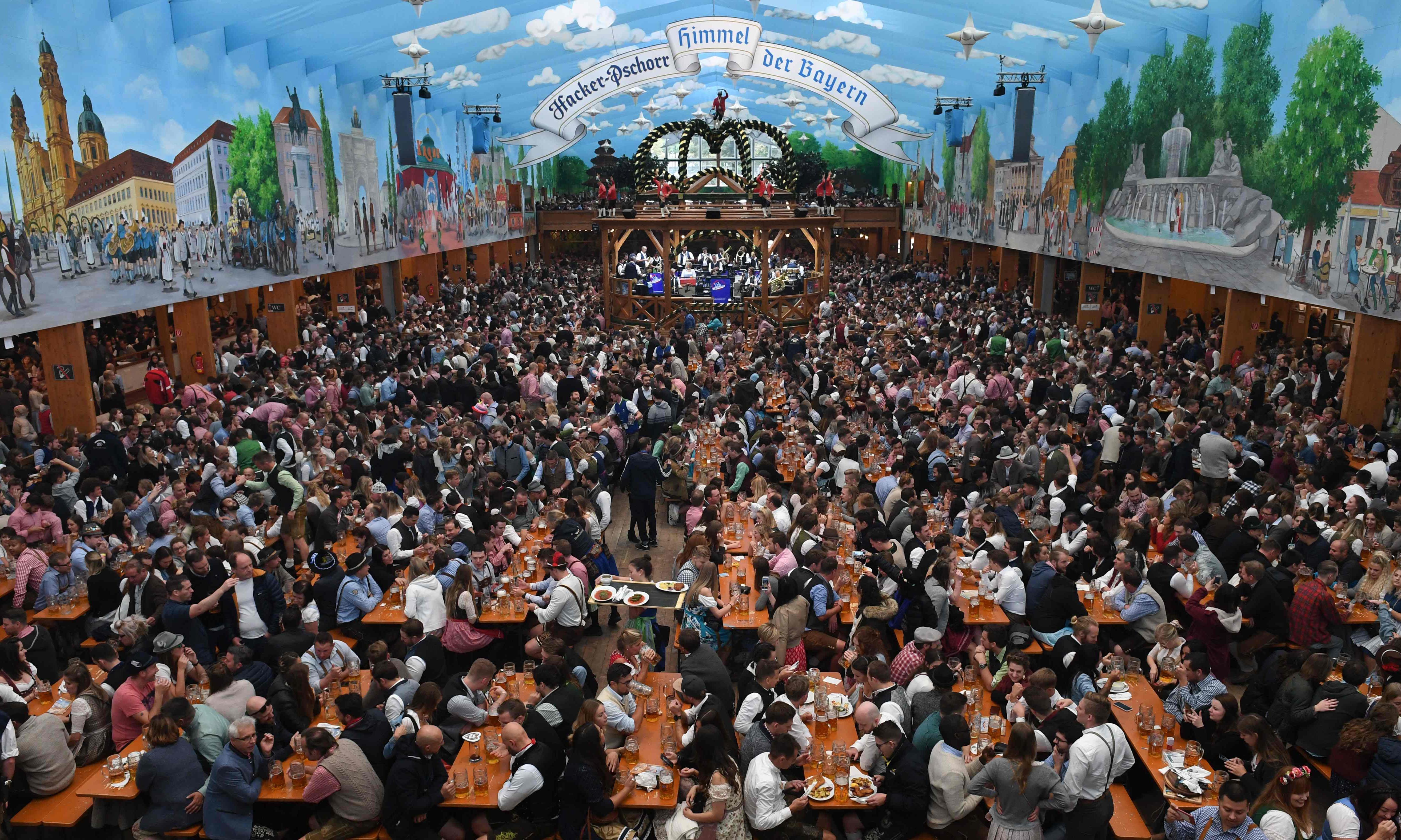 Oktoberfest 'produces 10 times as much methane as Boston'