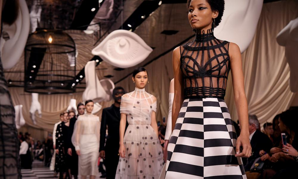 Christian Dior's Spring/Summer collection 2018 in Paris.