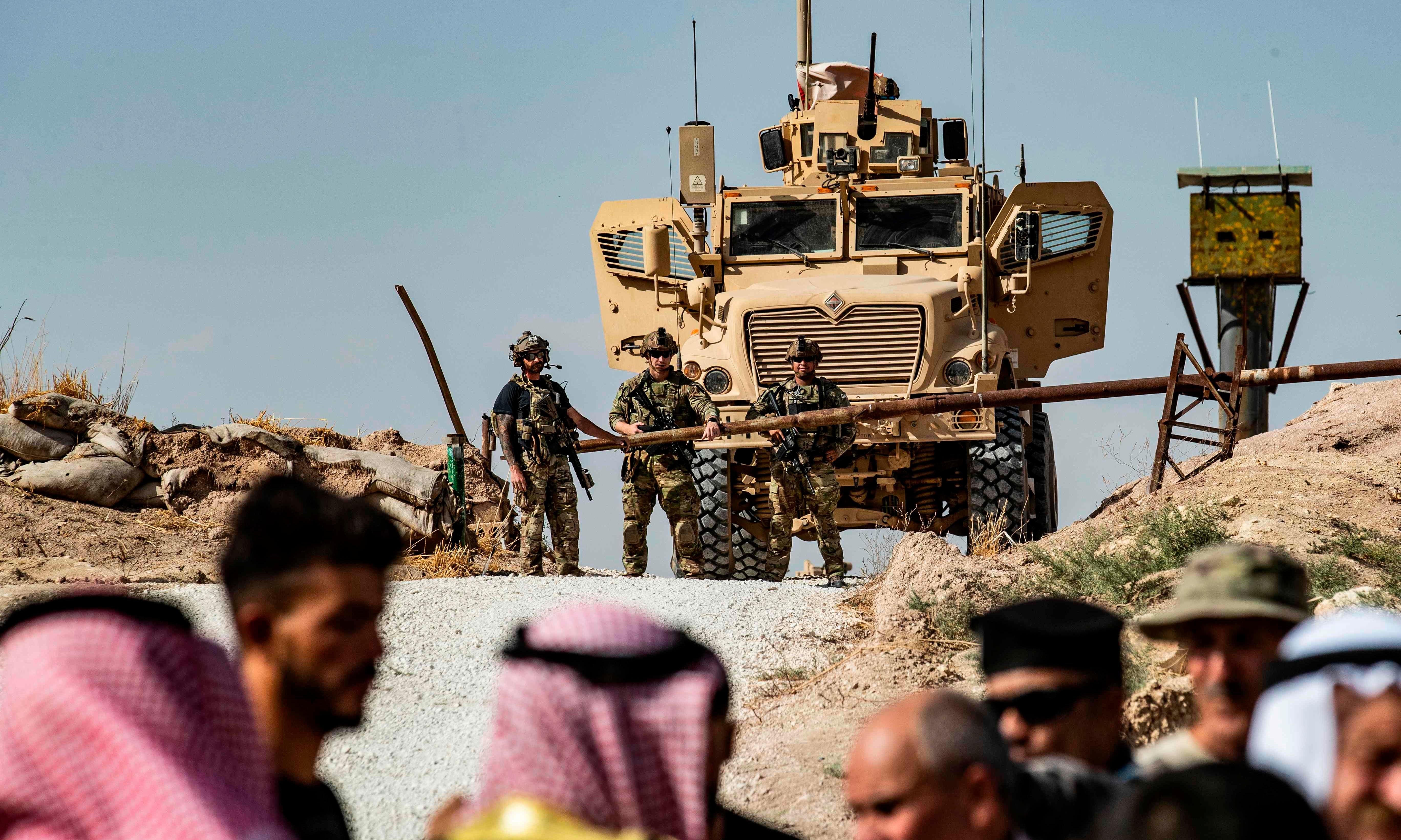 US to let Turkish forces move into Syria, dumping Kurdish allies